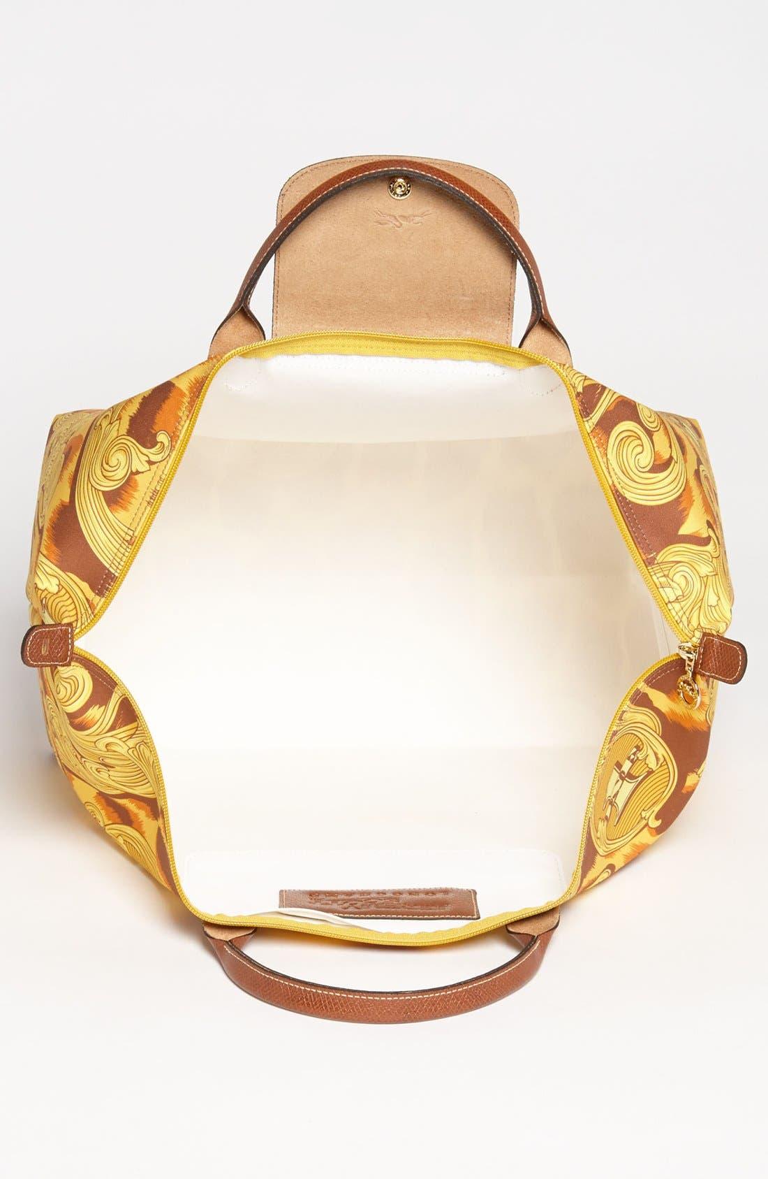 Alternate Image 3  - Longchamp 'Jeremy Scott - Leopard Flourish' Canvas Travel Bag