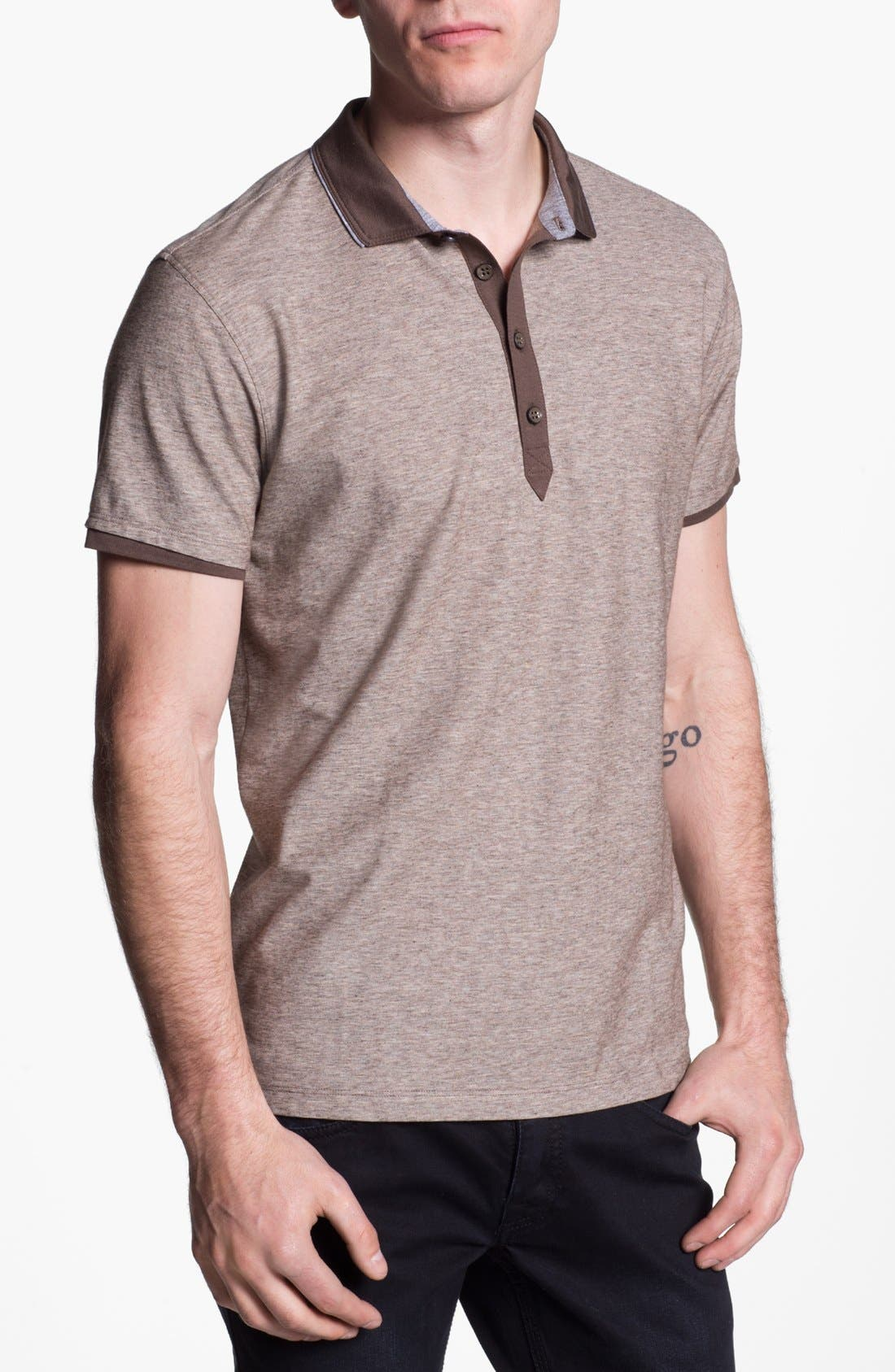 Main Image - BOSS HUGO BOSS 'Arpino' Slim Fit Polo