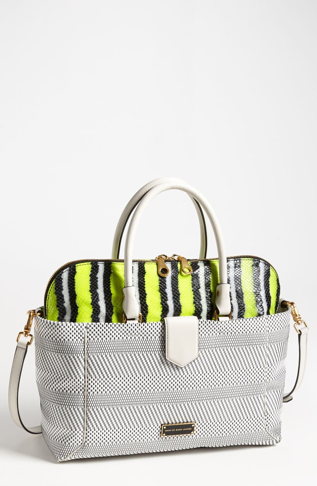 Main Image - MARC BY MARC JACOBS 'Double Trouble Anemone - Whitney' Leather Tote
