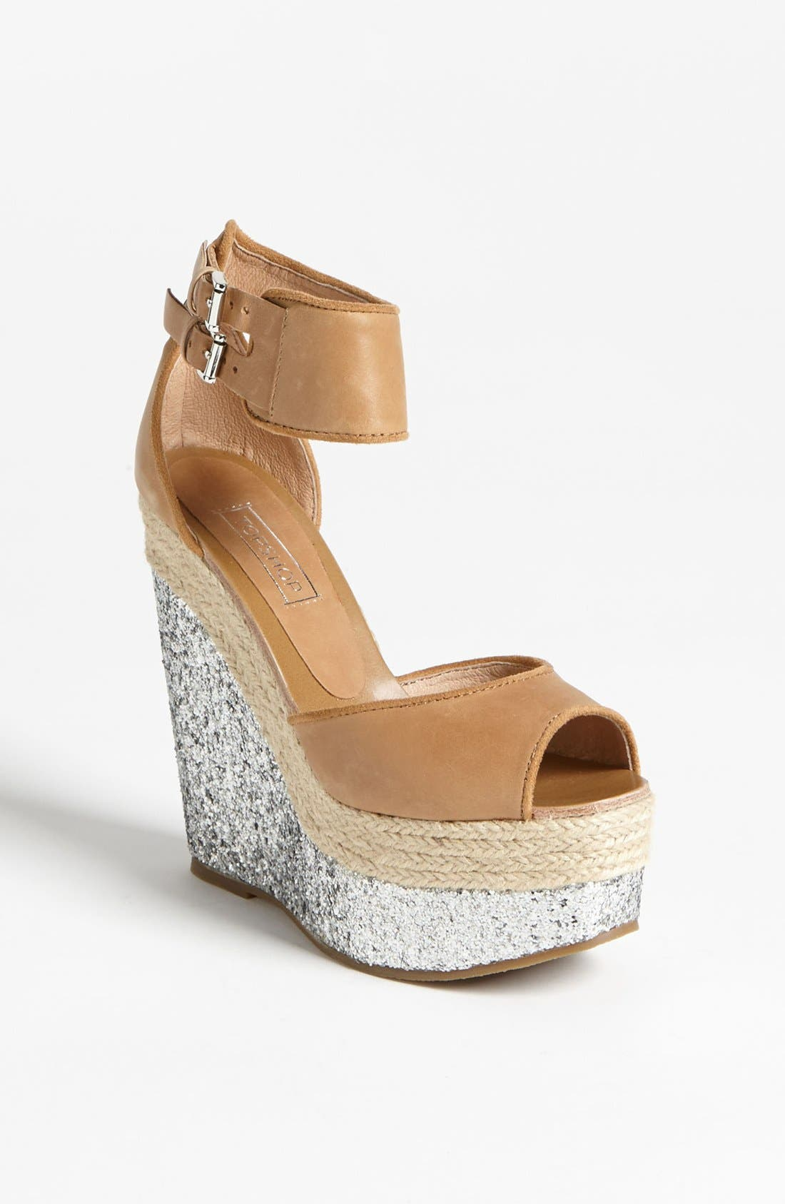 Alternate Image 1 Selected - Topshop 'Whirlwind' Espadrille Wedge Sandal