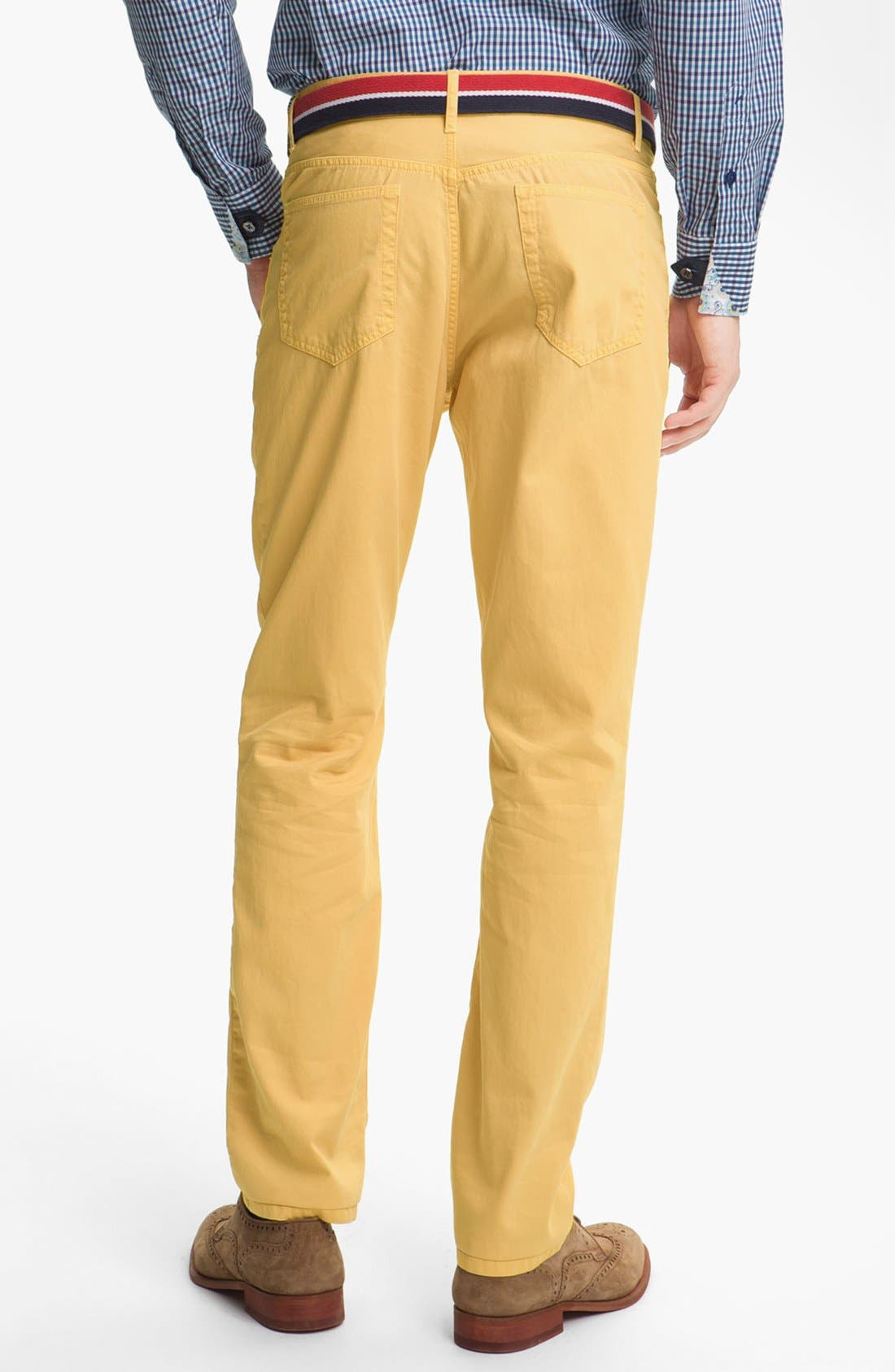 Alternate Image 2  - Grayers Five Pocket Straight Leg Pants
