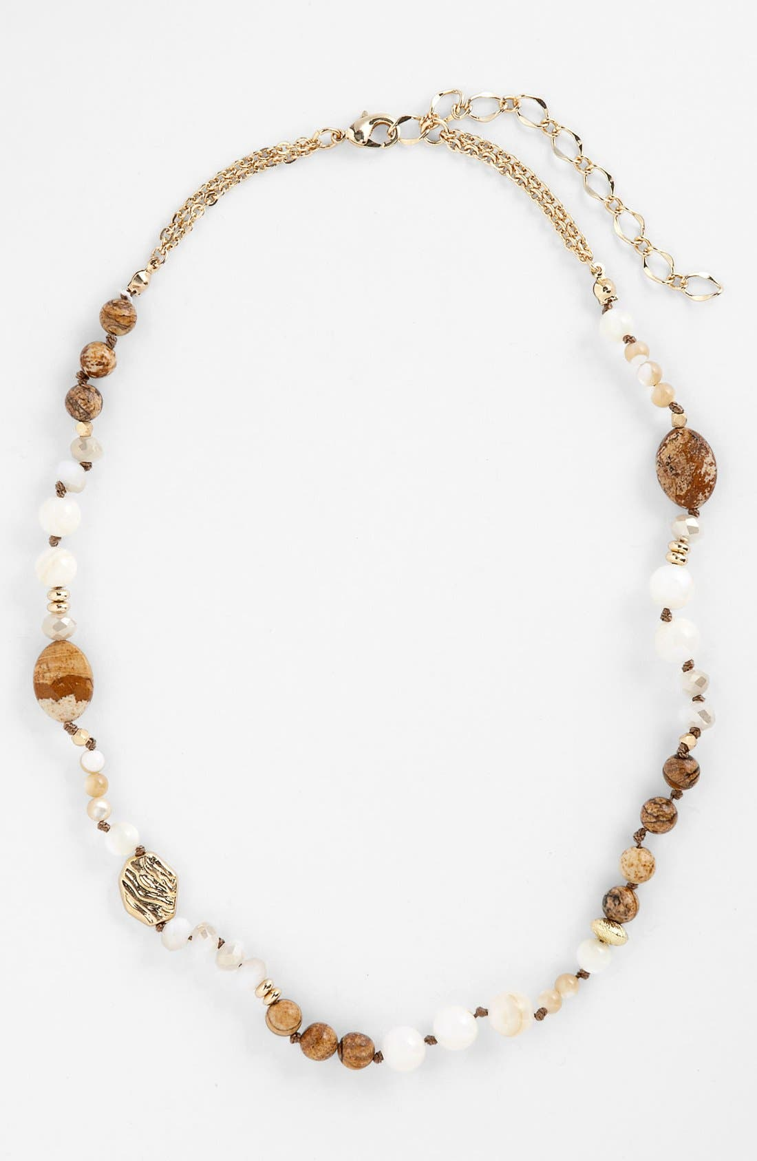 Main Image - Nordstrom 'Pebbles' Beaded Necklace