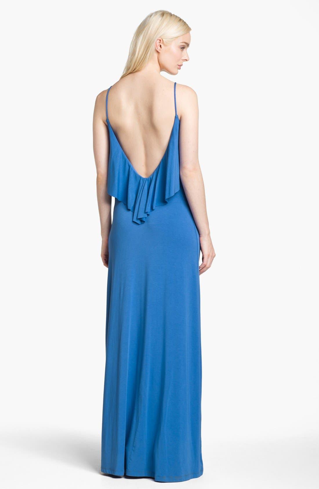 Alternate Image 2  - Tart 'Geni' Ruffled Maxi Dress
