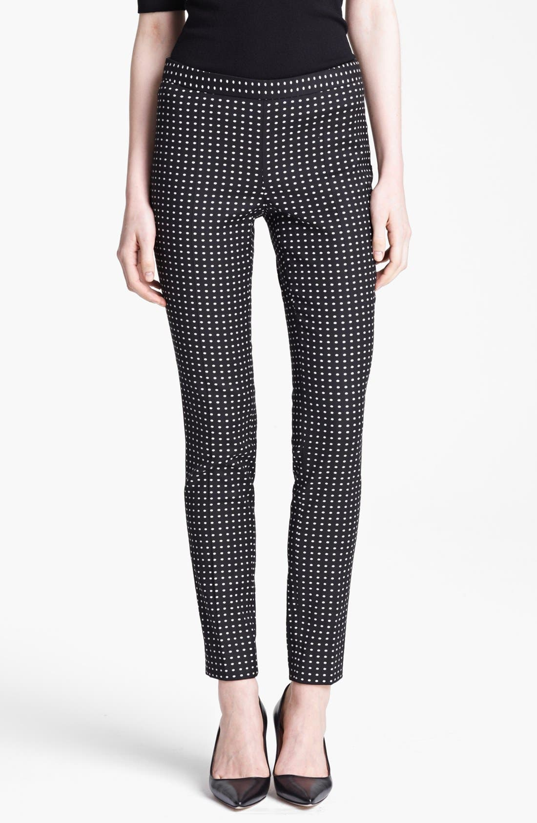 Alternate Image 1 Selected - Moschino Cheap & Chic Polka Dot Leggings