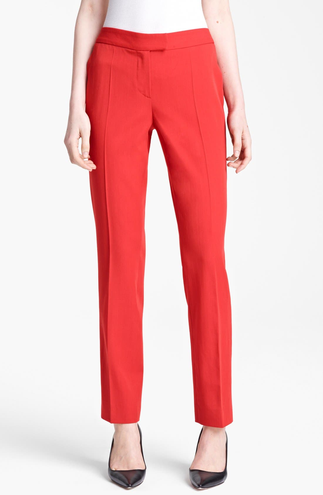 Alternate Image 1 Selected - Moschino Cheap & Chic Wool Gabardine Trousers
