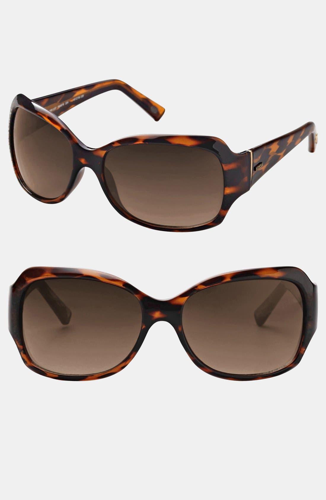 Alternate Image 1 Selected - Fossil 'Lori 3' 61mm Sunglasses