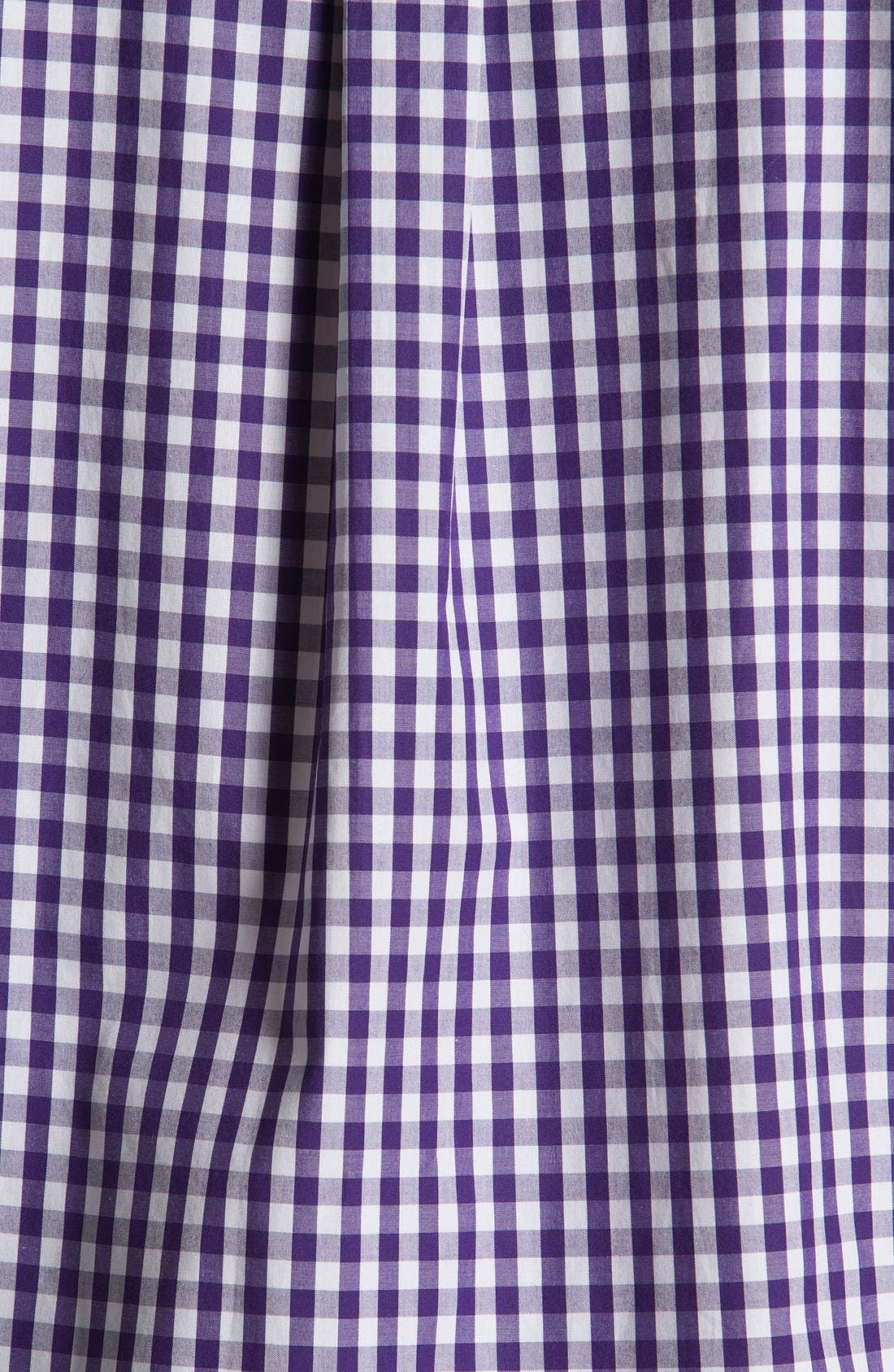 Alternate Image 3  - Façonnable Club Fit Gingham Sport Shirt