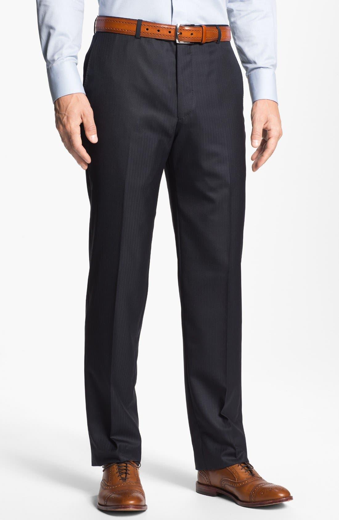 Alternate Image 4  - Hickey Freeman 'Beacon' Stripe Suit