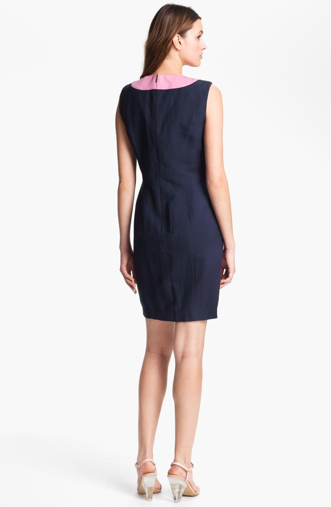 Alternate Image 2  - French Connection 'Glitter Bug' Embellished Sheath Dress
