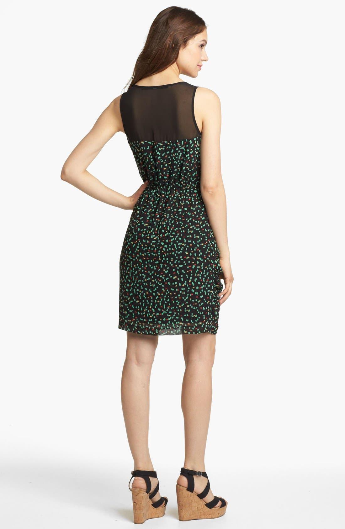 Alternate Image 2  - Kensie 'Sketched Spot' Dress