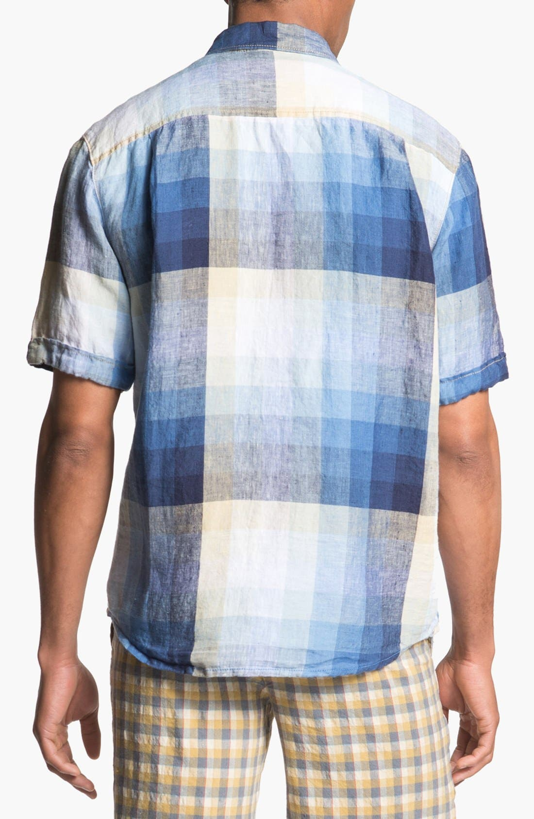 Alternate Image 2  - Tommy Bahama 'Pacific Breezer' Short Sleeve Linen Sport Shirt