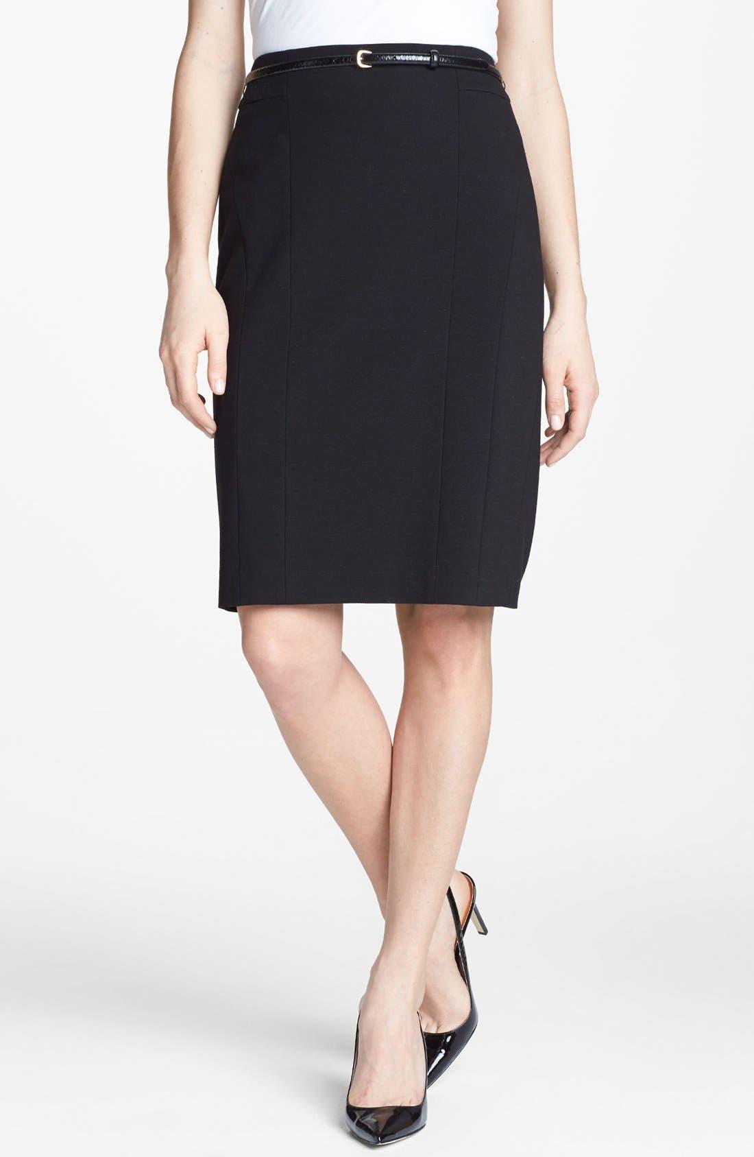 Main Image - Classiques Entier® Italian Ponte Skirt