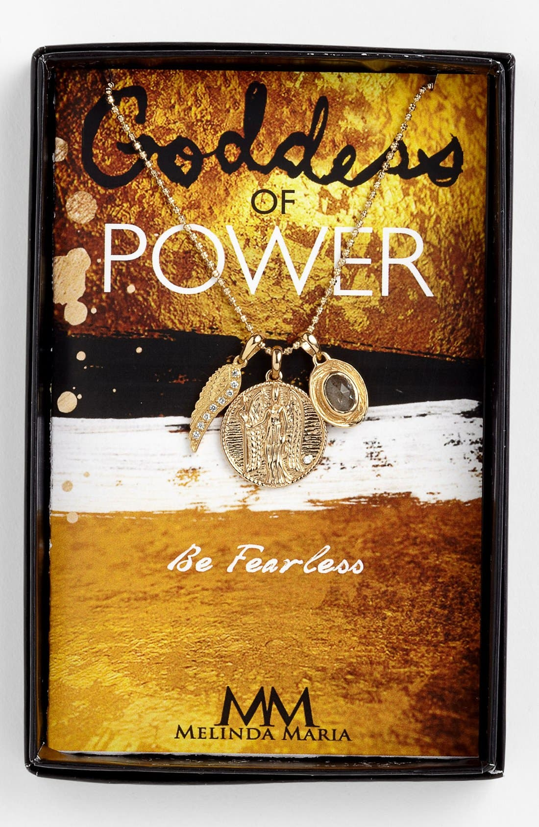 Main Image - Melinda Maria 'Goddess of Power' Cluster Pendant Necklace