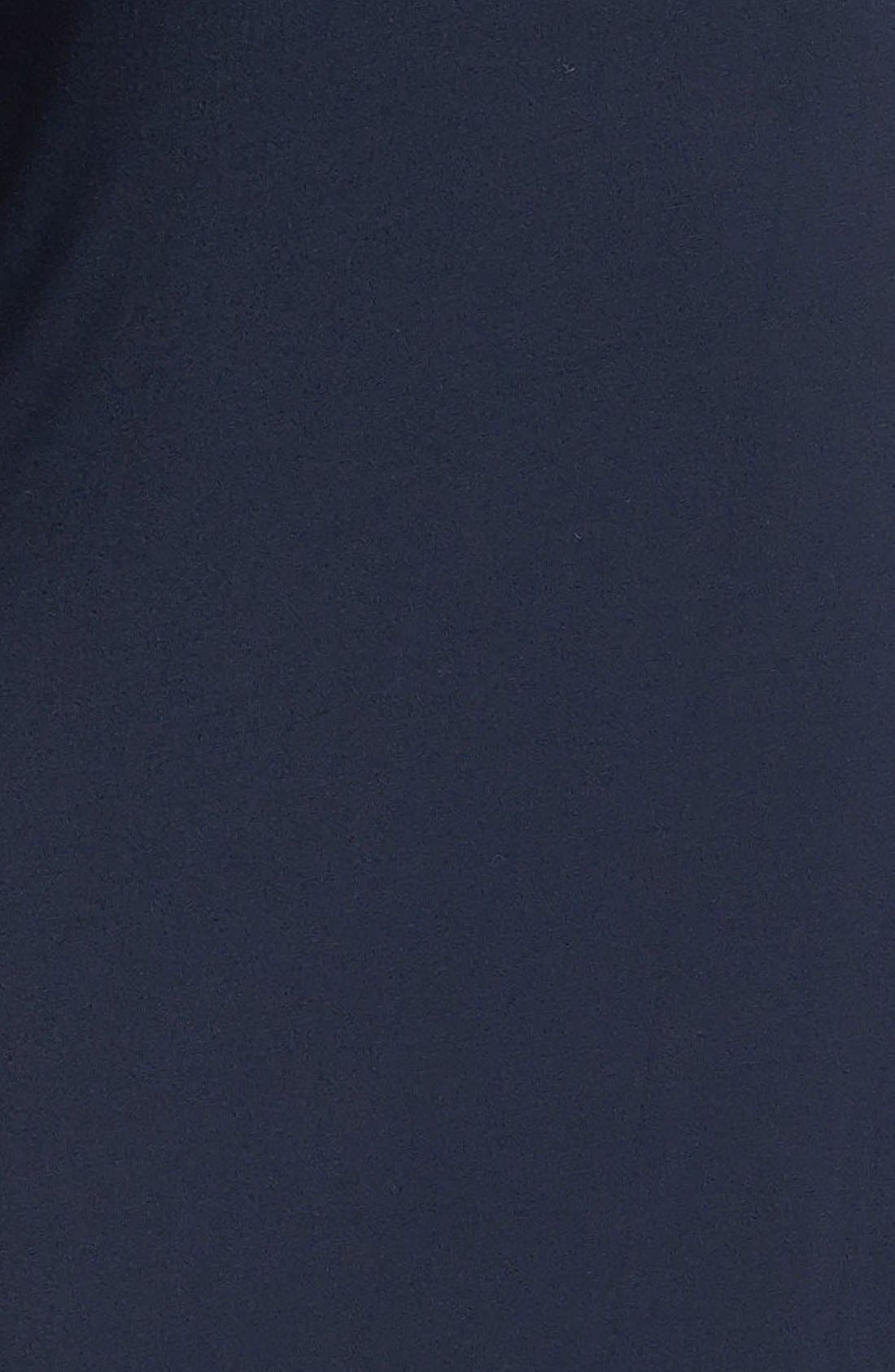 Alternate Image 3  - MICHAEL Michael Kors One Shoulder Poncho Maxi Dress