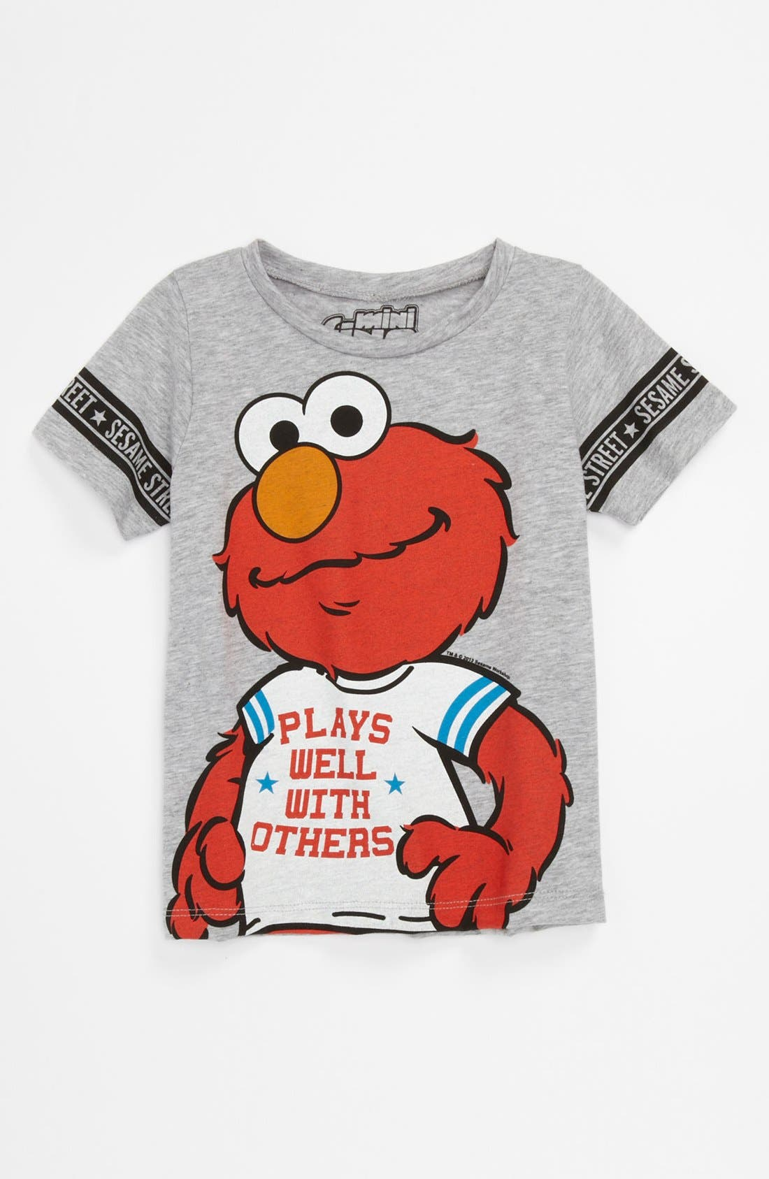 Alternate Image 1 Selected - Mighty Fine 'Elmo Plays Well' T-Shirt (Toddler)