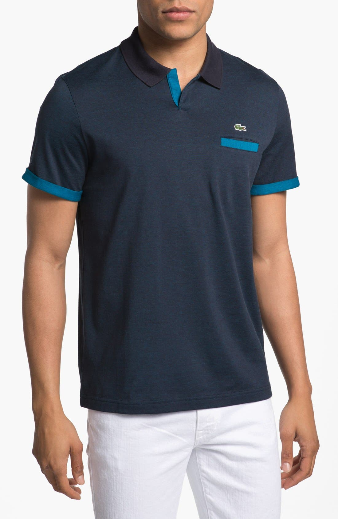Main Image - Lacoste Johnny Collar Polo