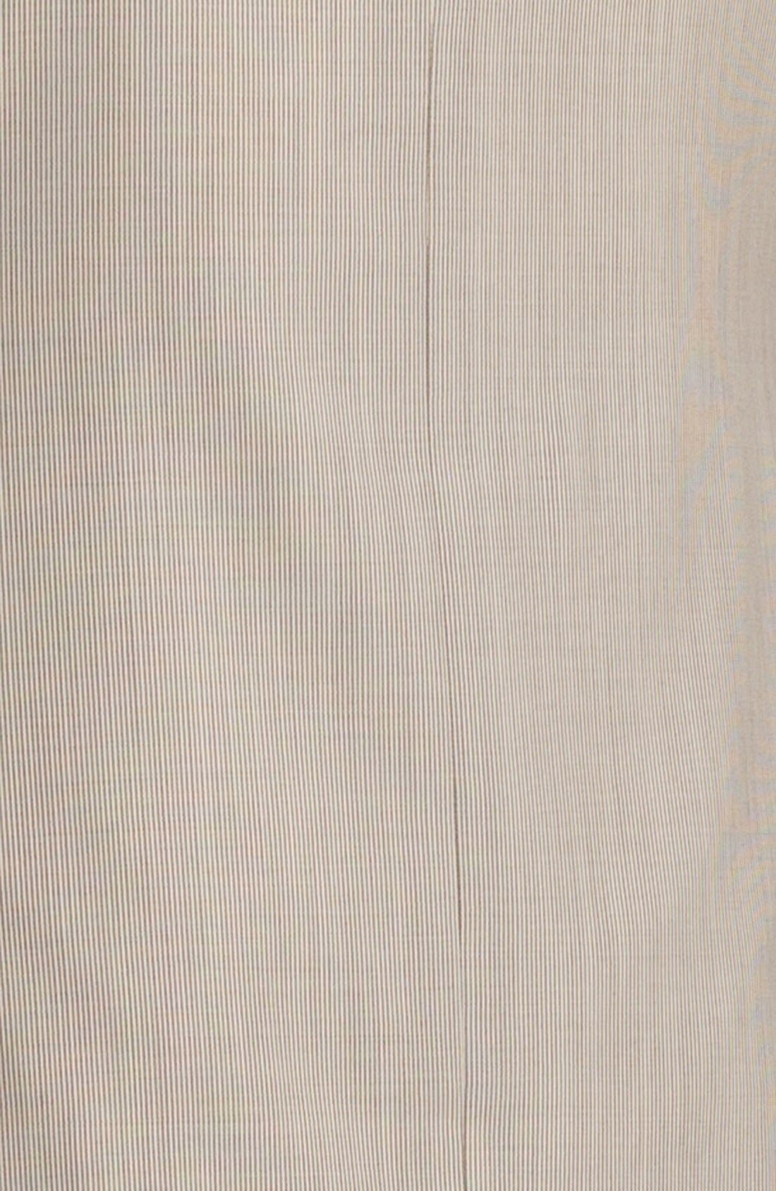 Alternate Image 2  - Joseph Abboud Trim Fit Stripe Wool Suit