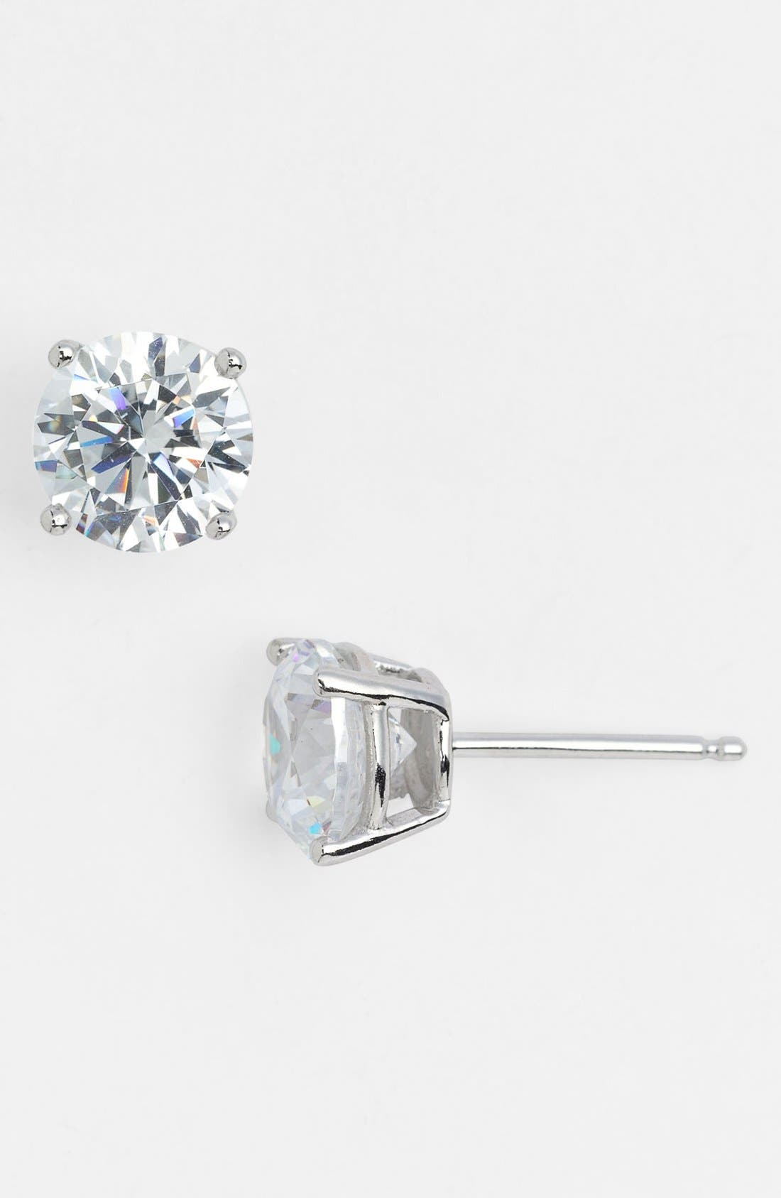 Alternate Image 1 Selected - Nordstrom 3ct tw Cubic Zirconia Stud Earrings (Special Purchase)
