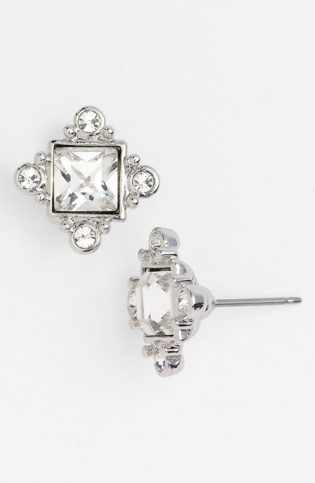 Alternate Image 1 Selected - Givenchy Crystal Stud Earrings