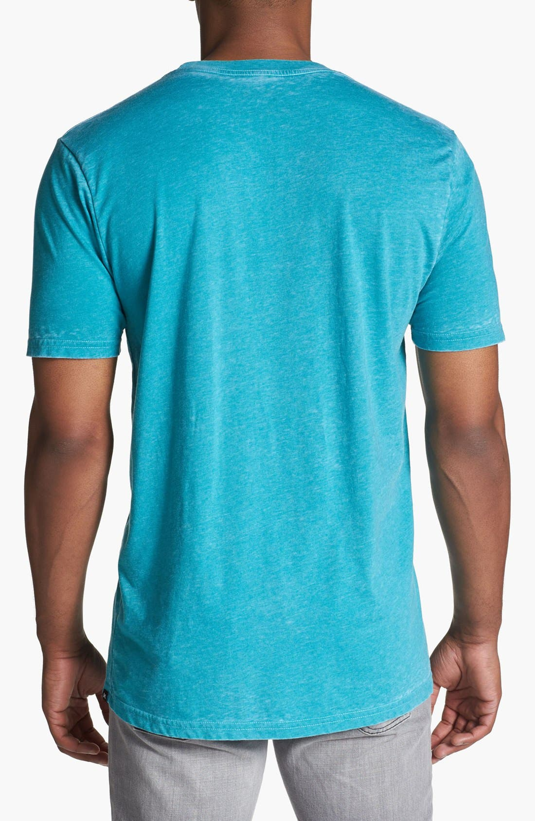 Alternate Image 2  - Hurley Burnout T-Shirt