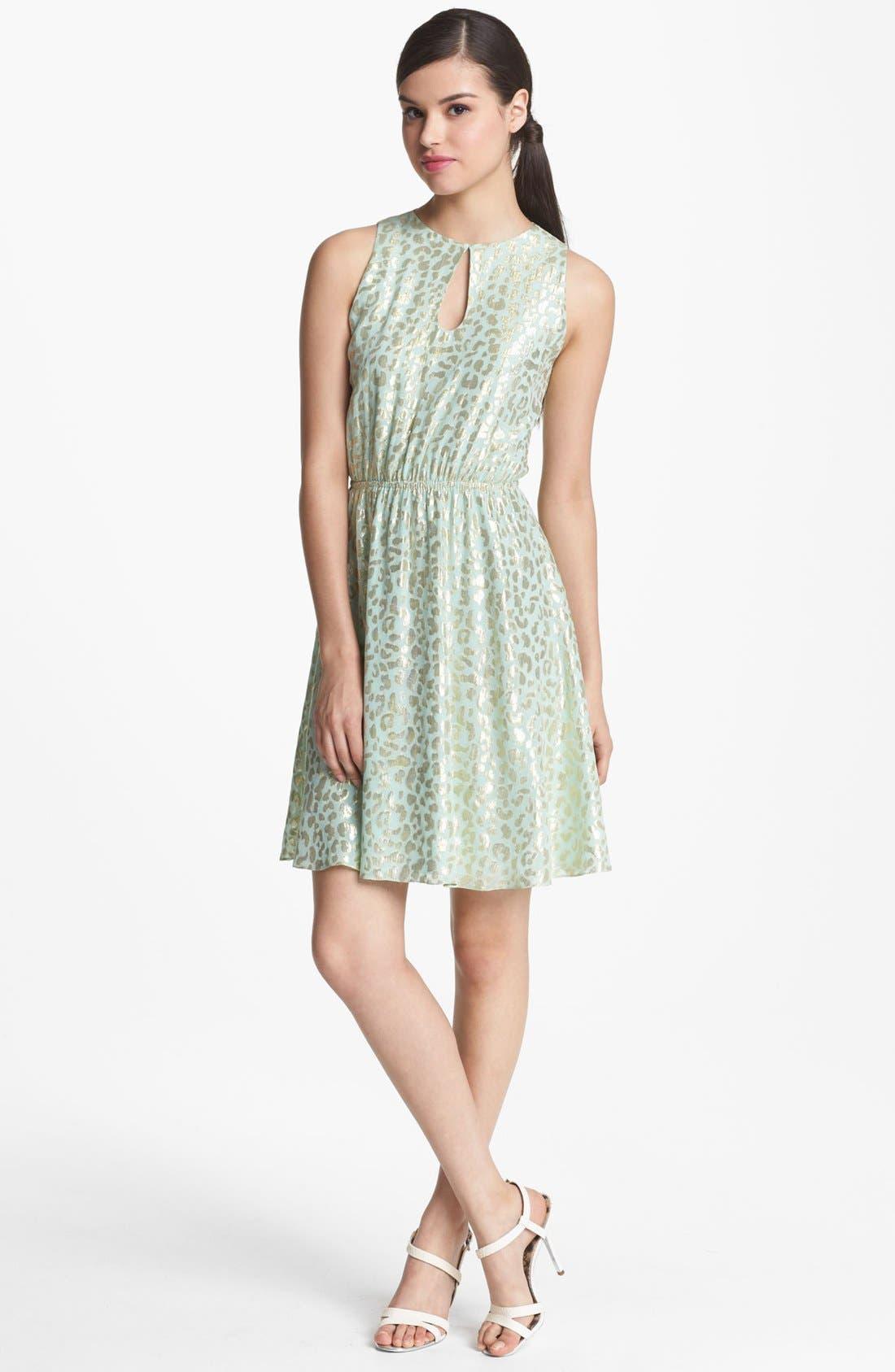 Main Image - ERIN erin fetherston Shirred Waist Dress
