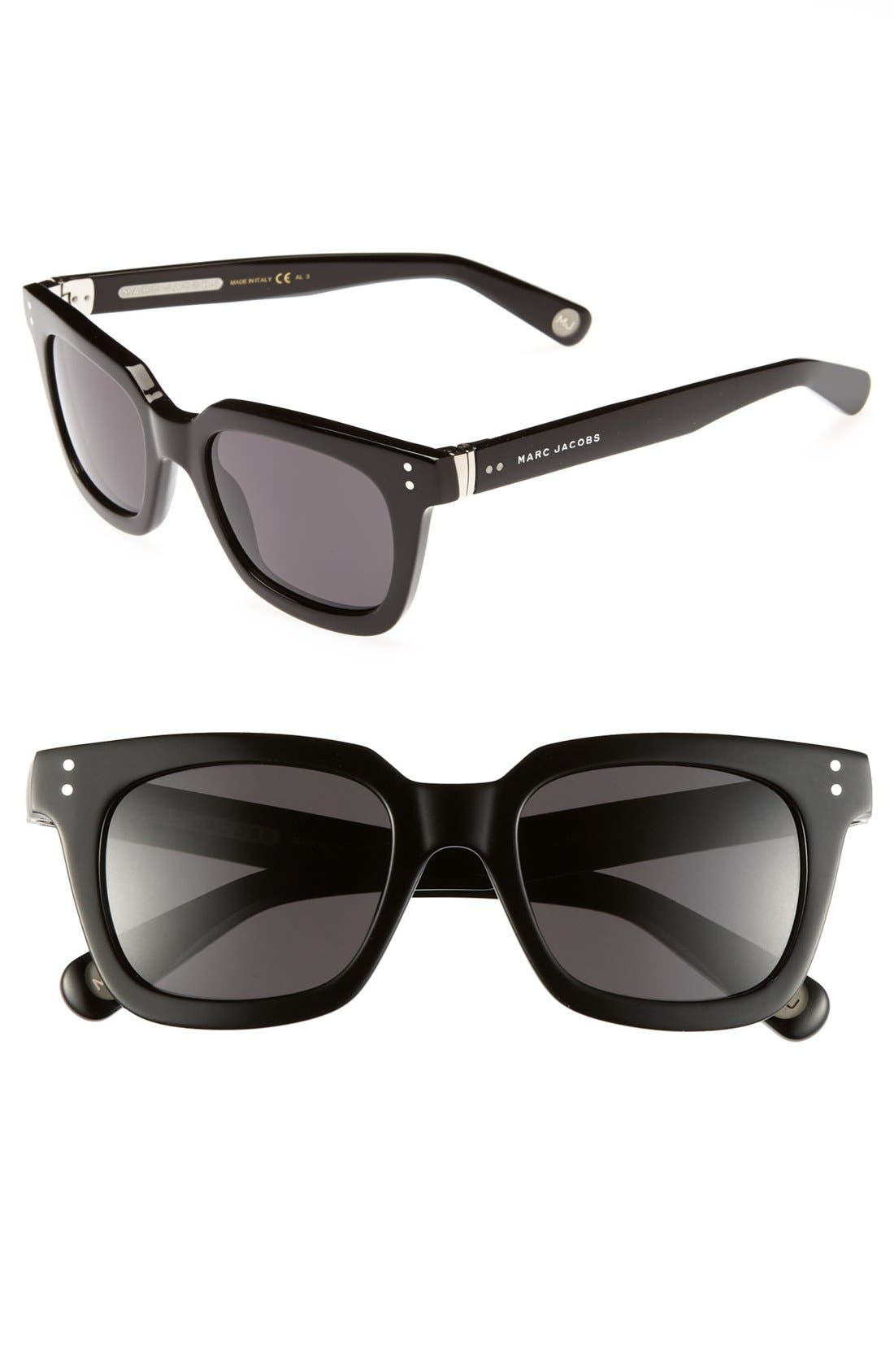 Alternate Image 1 Selected - MARC JACOBS 50mm Retro Sunglasses