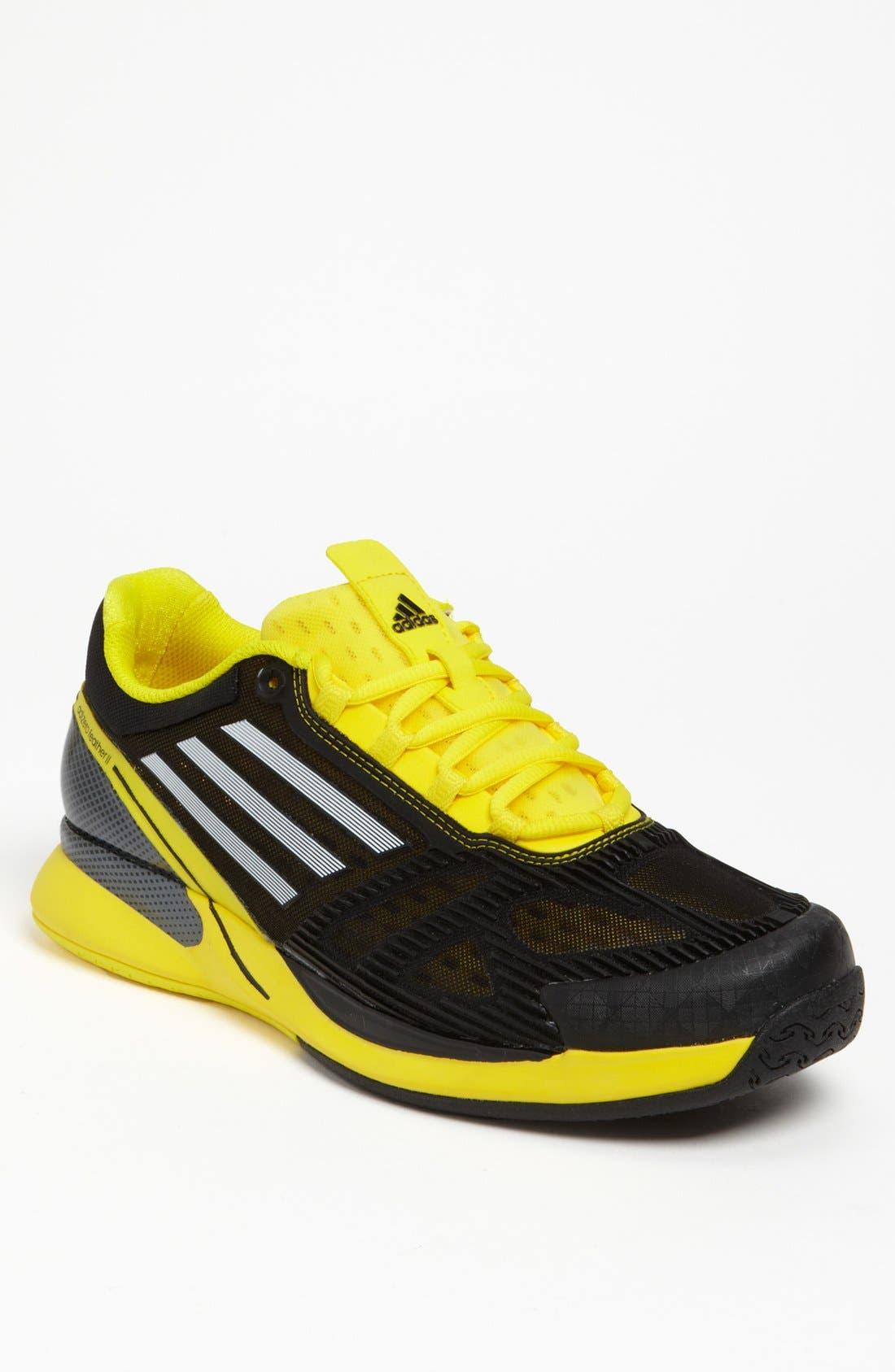 Alternate Image 1 Selected - adidas 'CLIMACOOL® adizero Feather II' Tennis Shoe (Men)