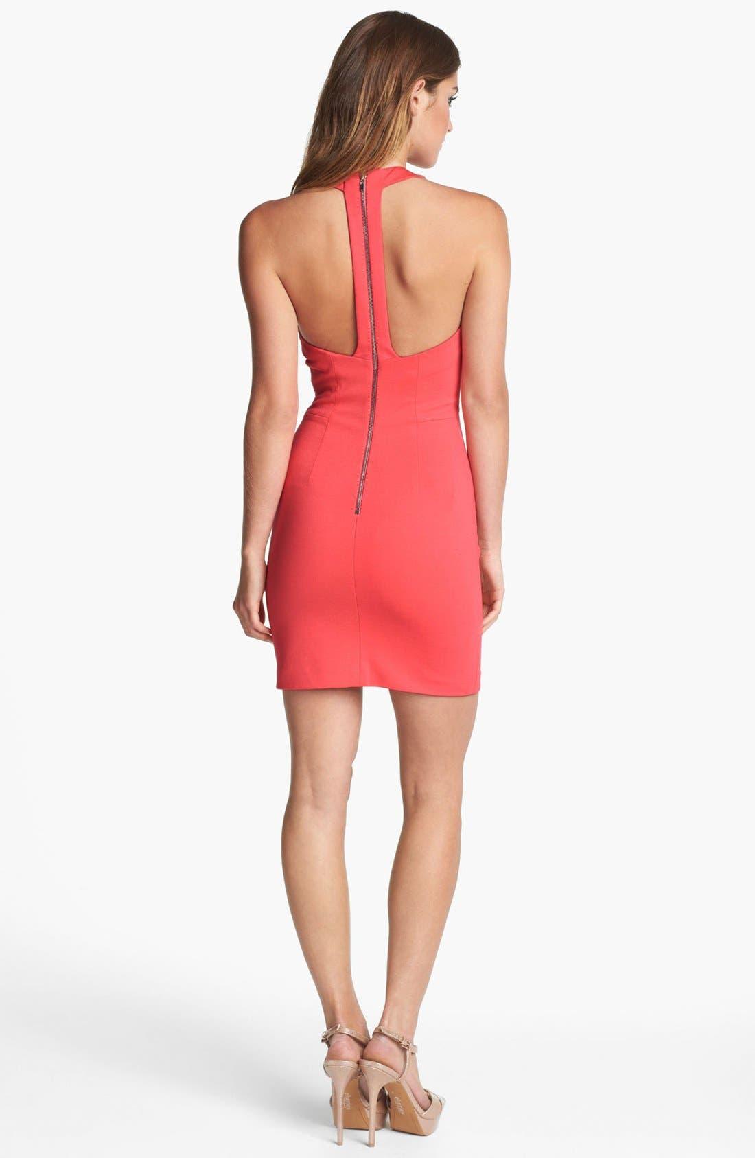 Alternate Image 2  - ERIN erin fetherston Ponte Knit Halter Dress