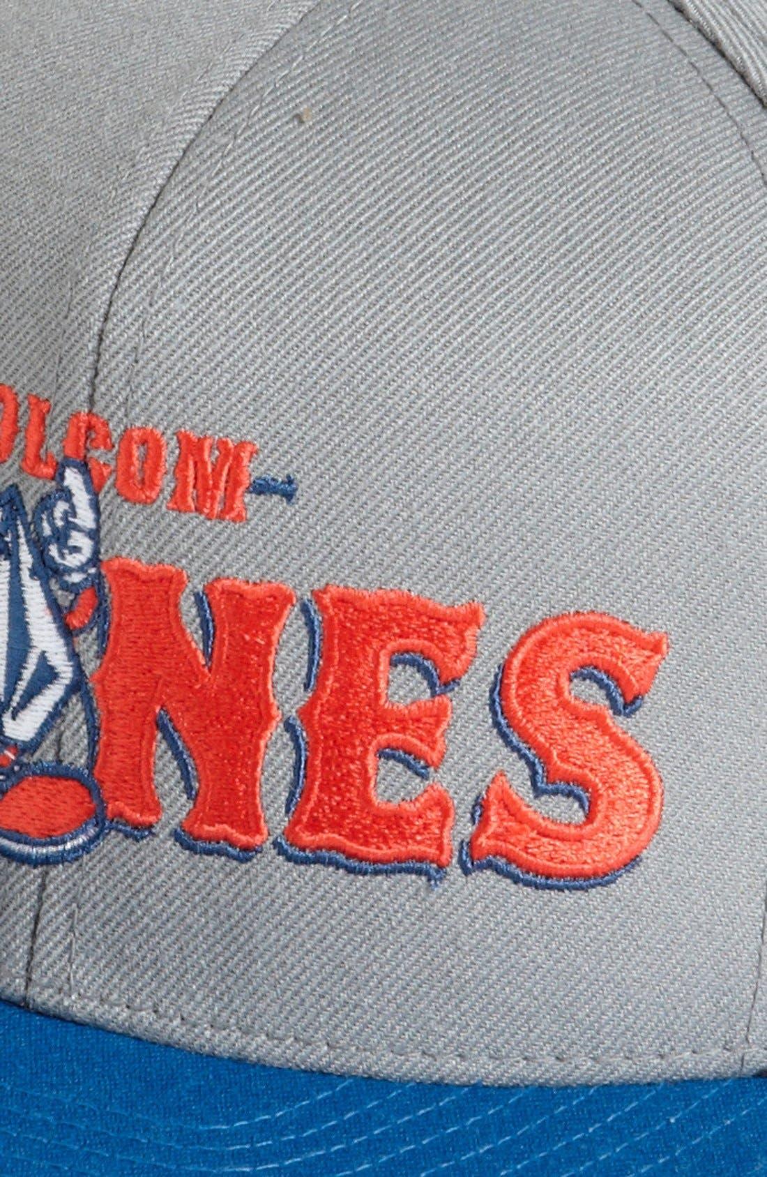 Alternate Image 2  - Volcom 'Mascot' Snapback Baseball Cap (Boys)