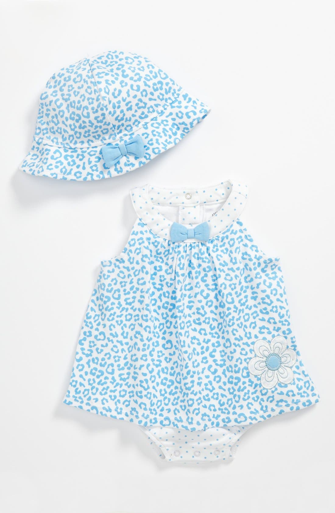 Main Image - Little Me Bodysuit & Hat (Baby)