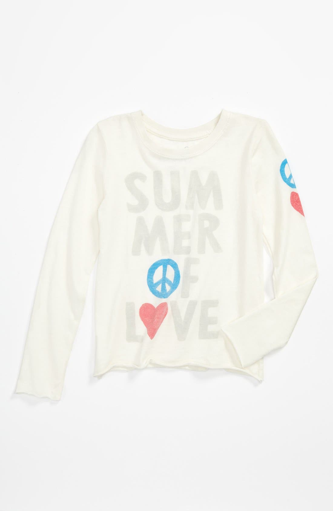 Main Image - Peek 'Summer of Love' Tee (Toddler, Little Girls & Big Girls)