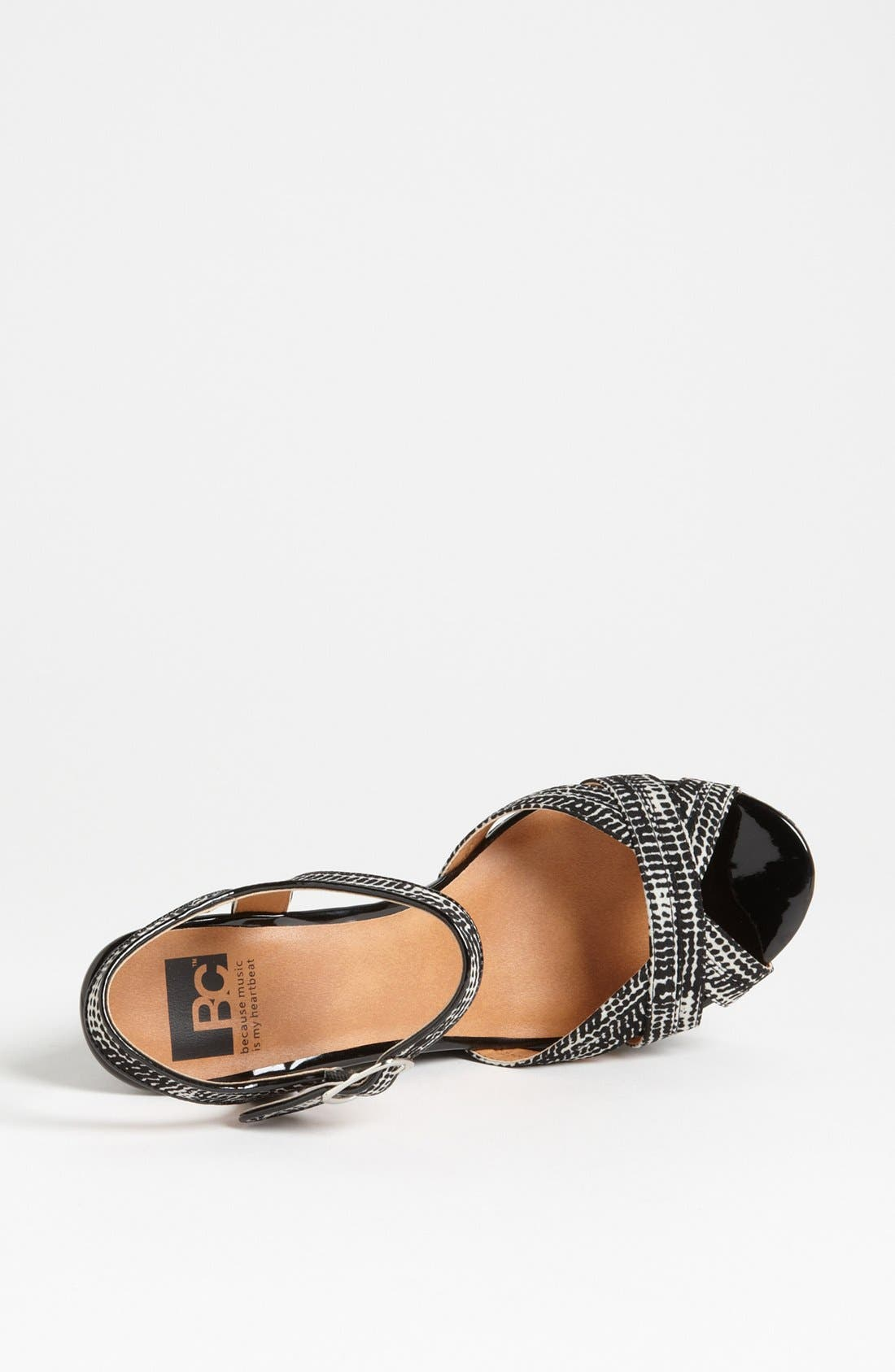 Alternate Image 3  - BC Footwear 'Kissable' Ankle Strap Wedge