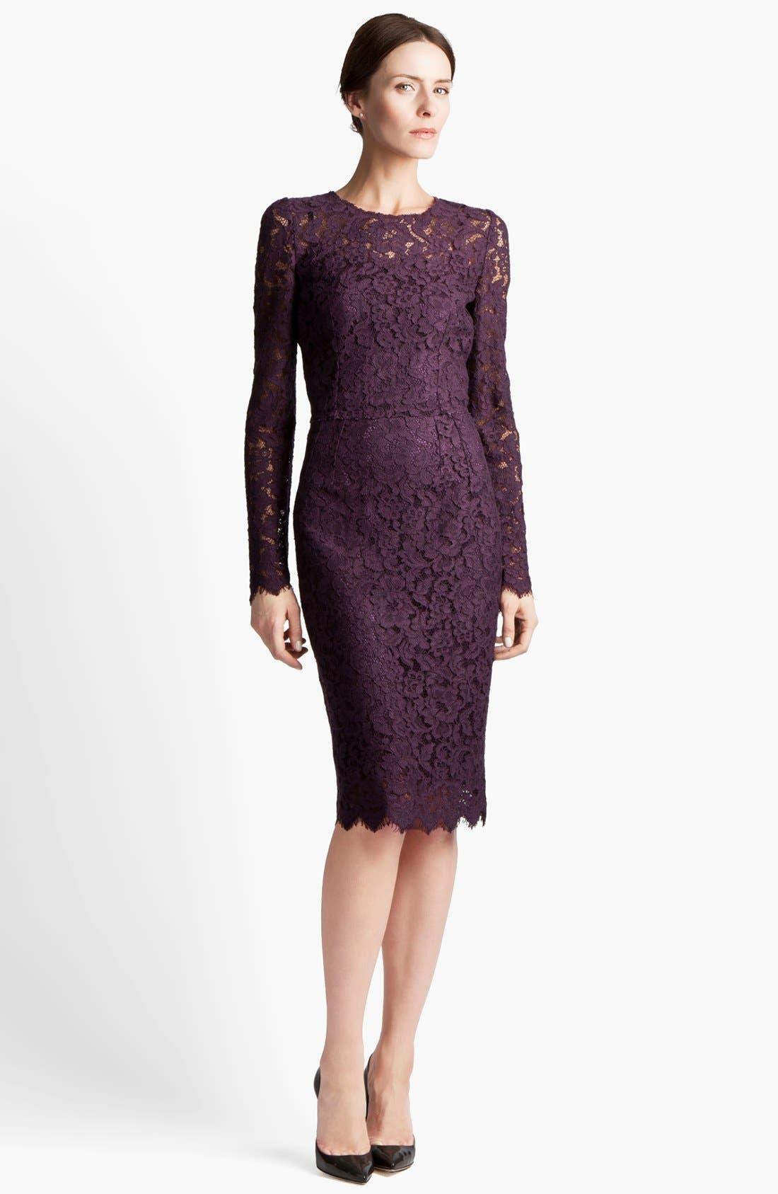Main Image - Dolce&Gabbana Lace Dress