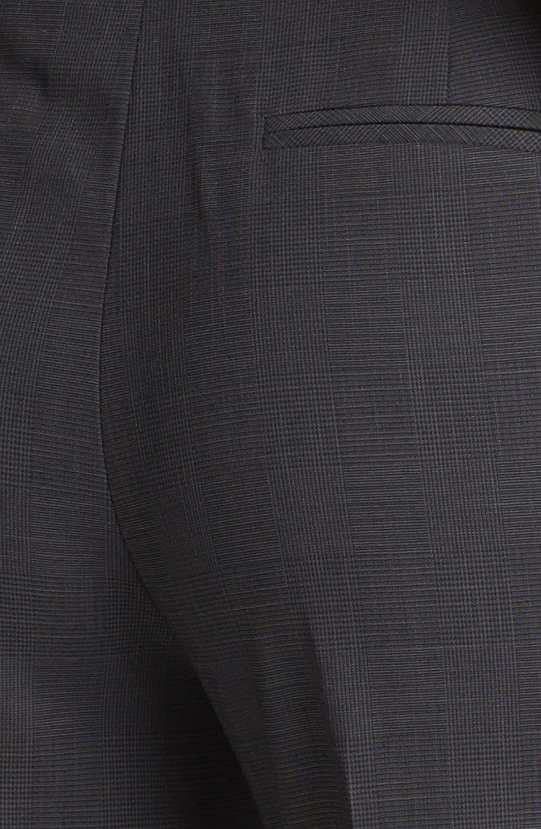 Alternate Image 3  - Halogen® 'Taylor' Etched Plaid Pants