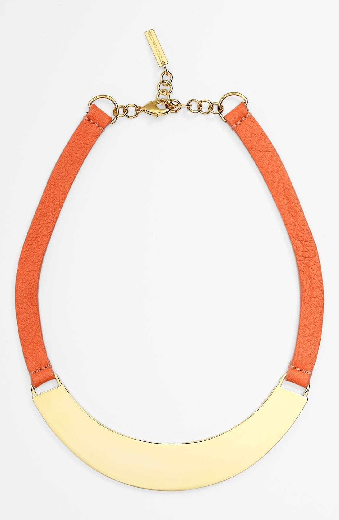 Alternate Image 1 Selected - Vince Camuto Leather Collar Necklace