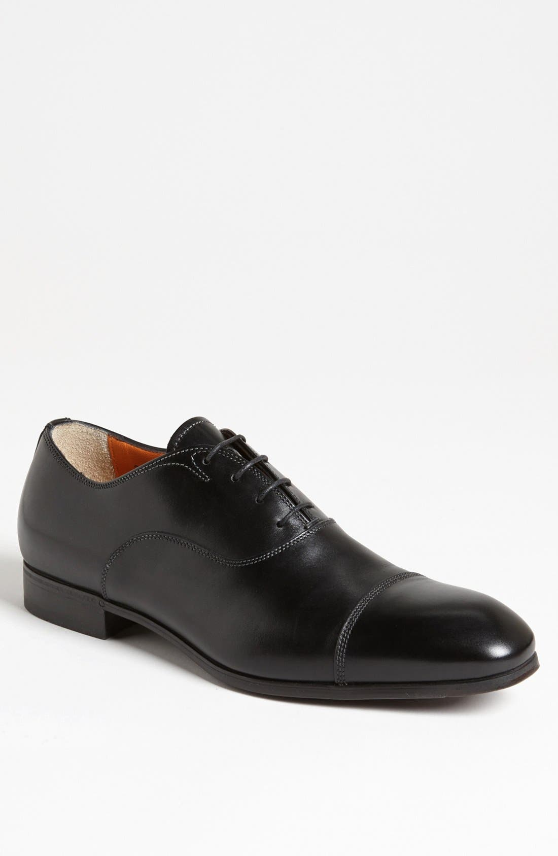 Santoni 'Salem' Cap Toe Oxford (Men)
