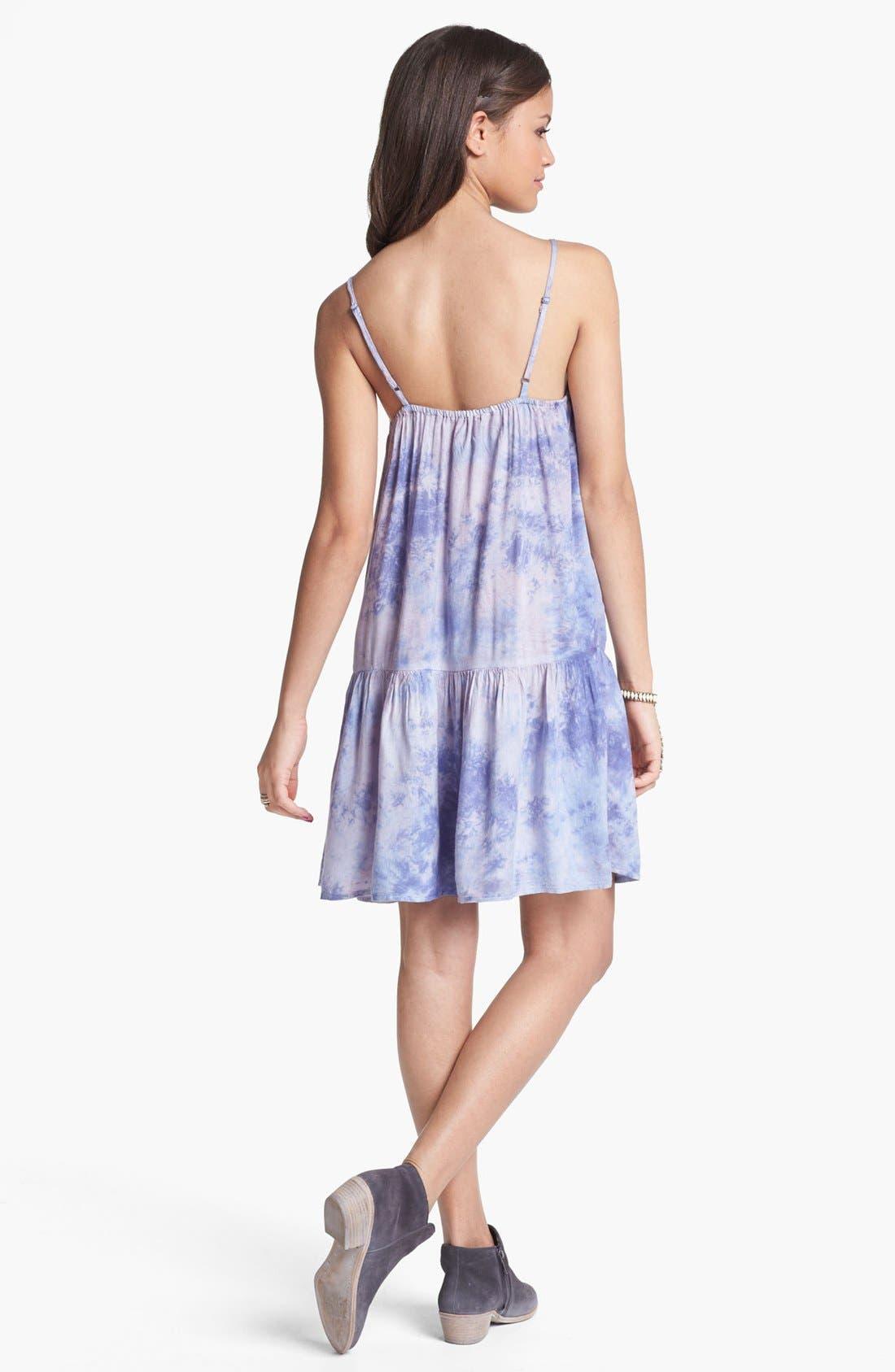 Alternate Image 2  - Fire Drop Waist Dress (Juniors) (Online Only)