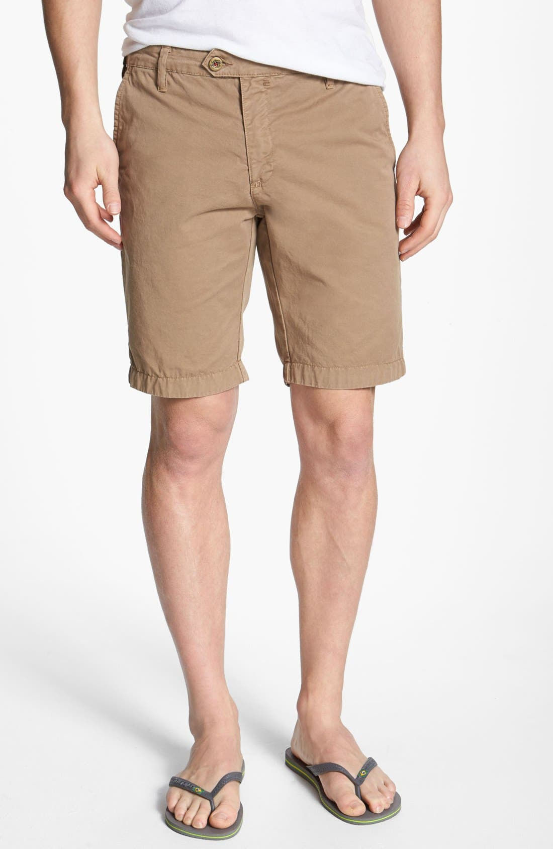 Main Image - Ted Baker London 'Lokhart' Chino Shorts