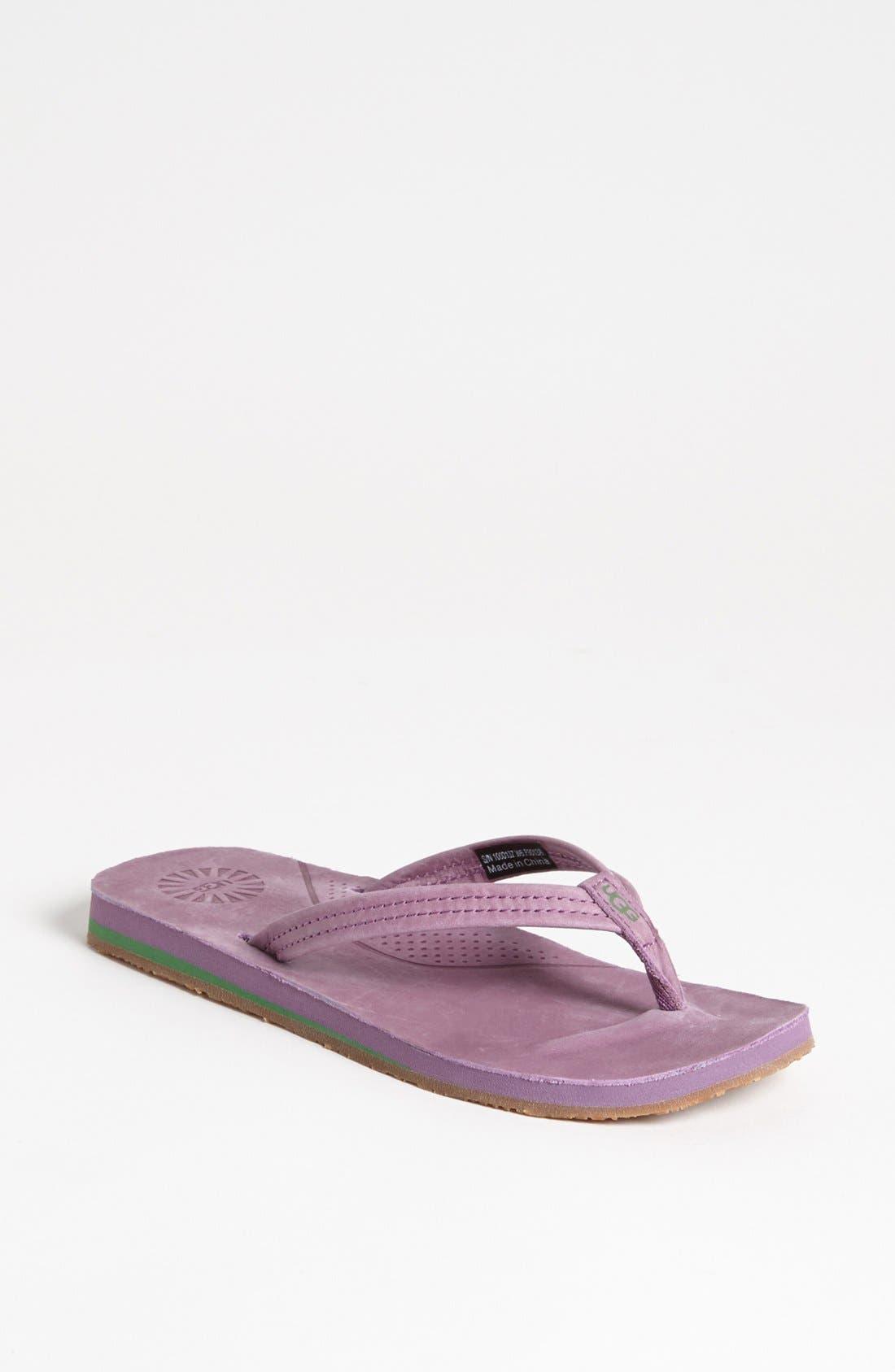 Main Image - UGG® 'Kayla' Thong Sandal (Women)