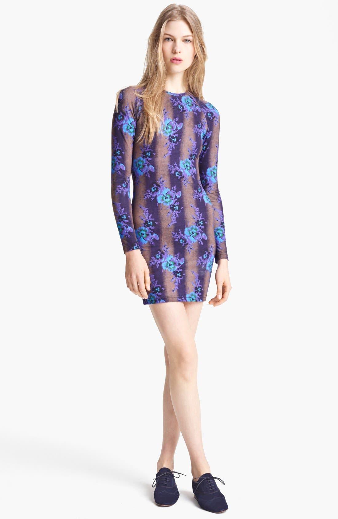 Main Image - Christopher Kane Bouquet Print Jersey Dress