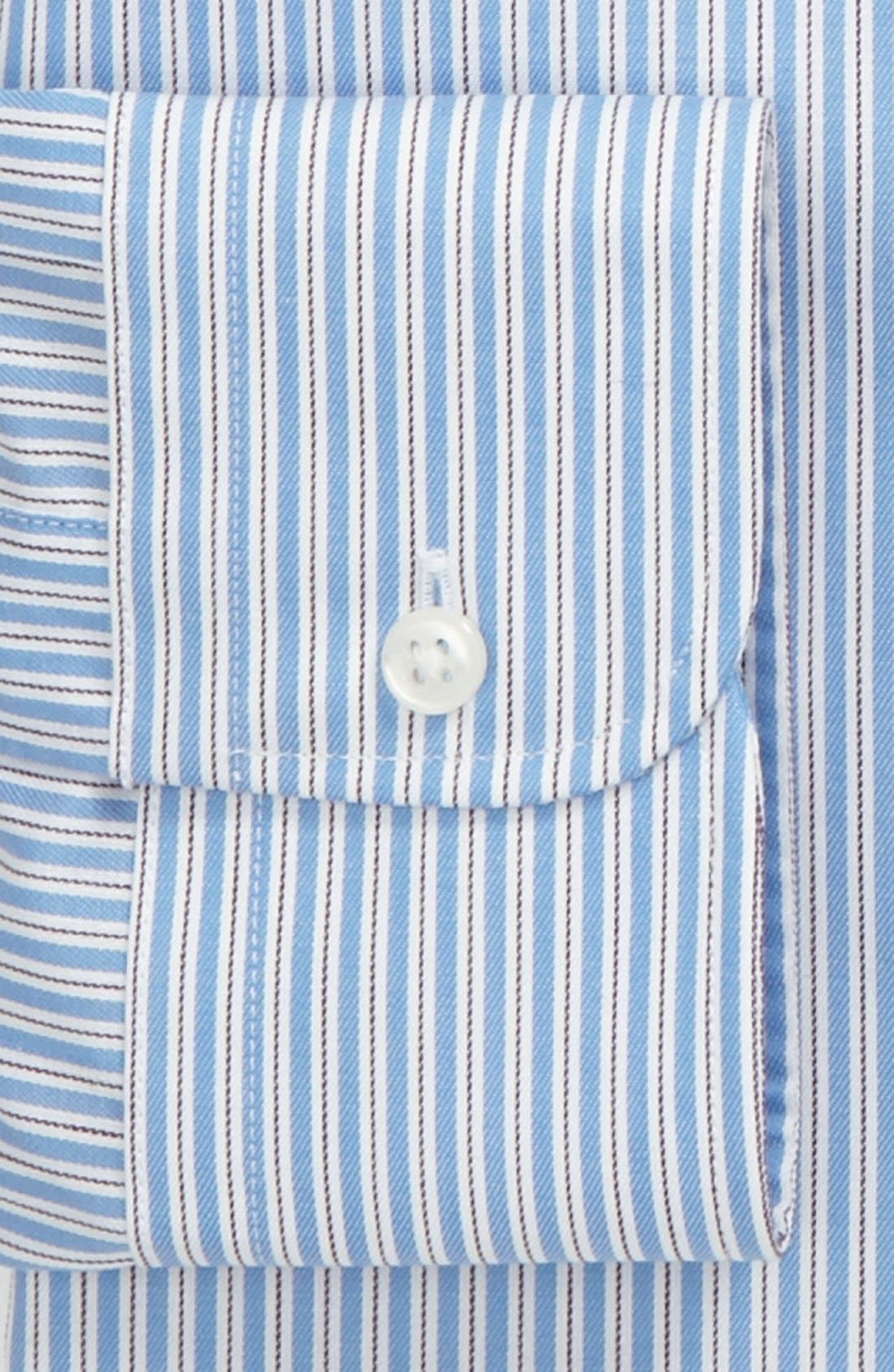 Alternate Image 2  - Nordstrom Traditional Fit Dress Shirt