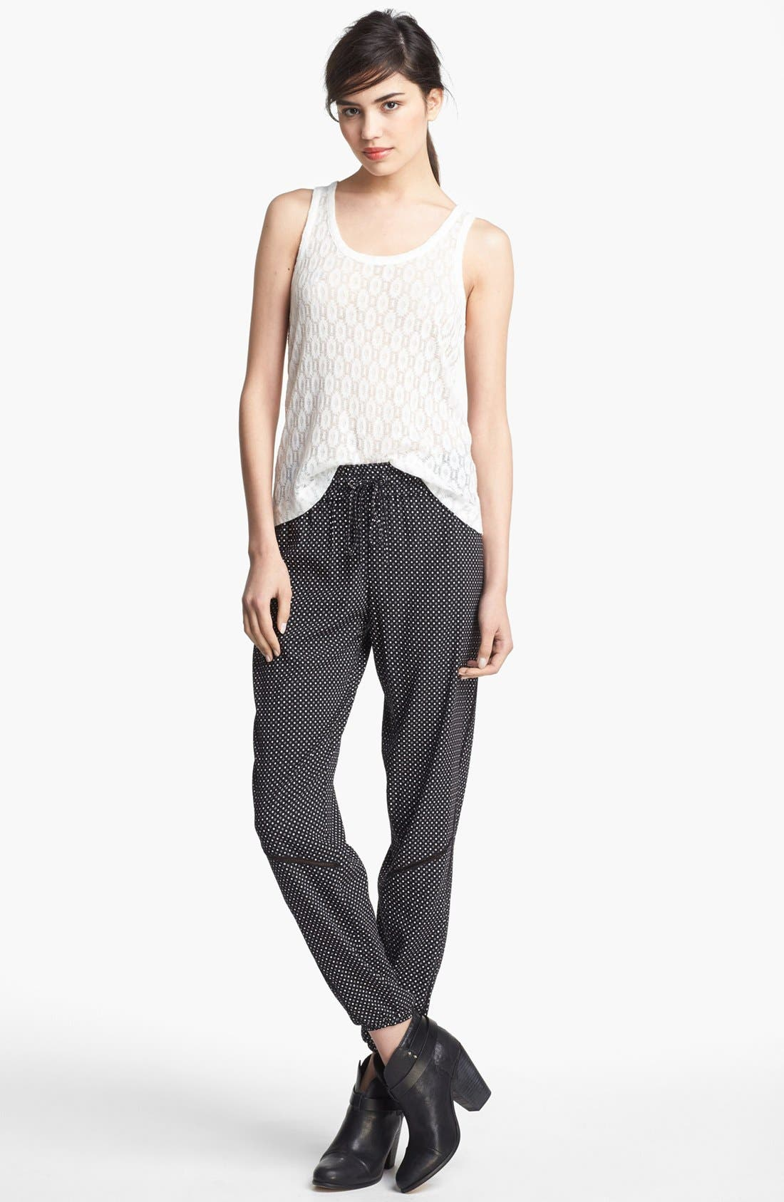 Alternate Image 4  - rag & bone 'Gina' Silk Track Pants