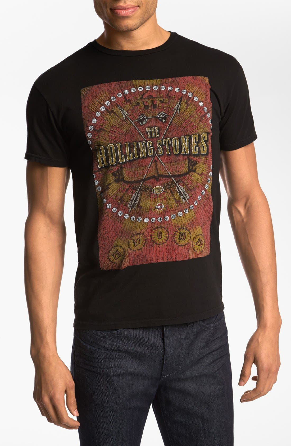Alternate Image 1 Selected - Retro Brand 'The Rolling Stones' T-Shirt