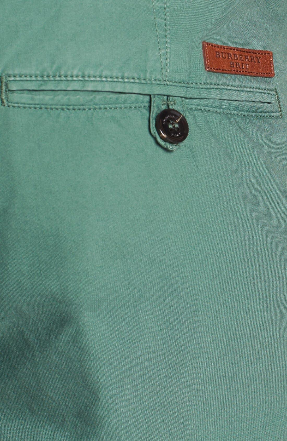 Alternate Image 3  - Burberry Brit Classic Chino Shorts