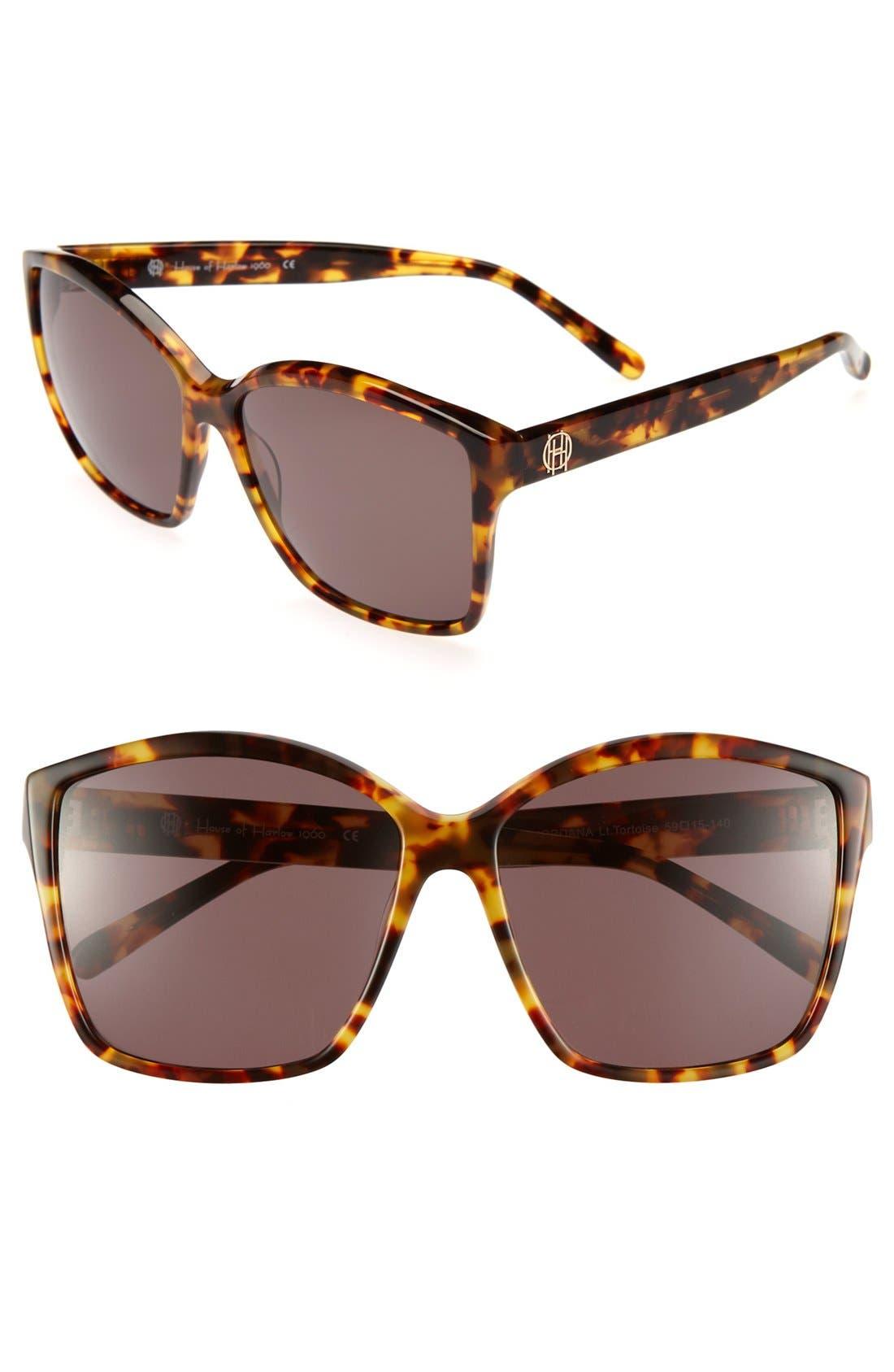 Main Image - House of Harlow 1960 'Jordana' 59mm Sunglasses