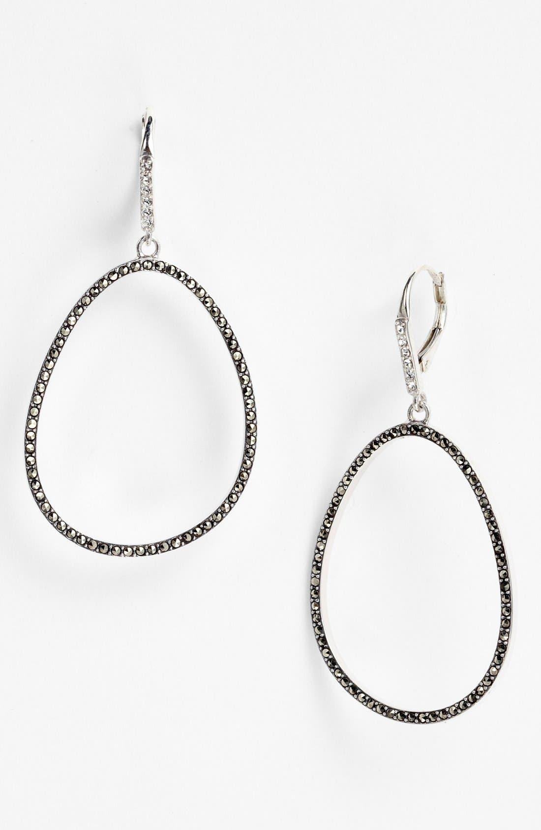 Alternate Image 1 Selected - Judith Jack 'Oahu' Cutout Drop Earrings