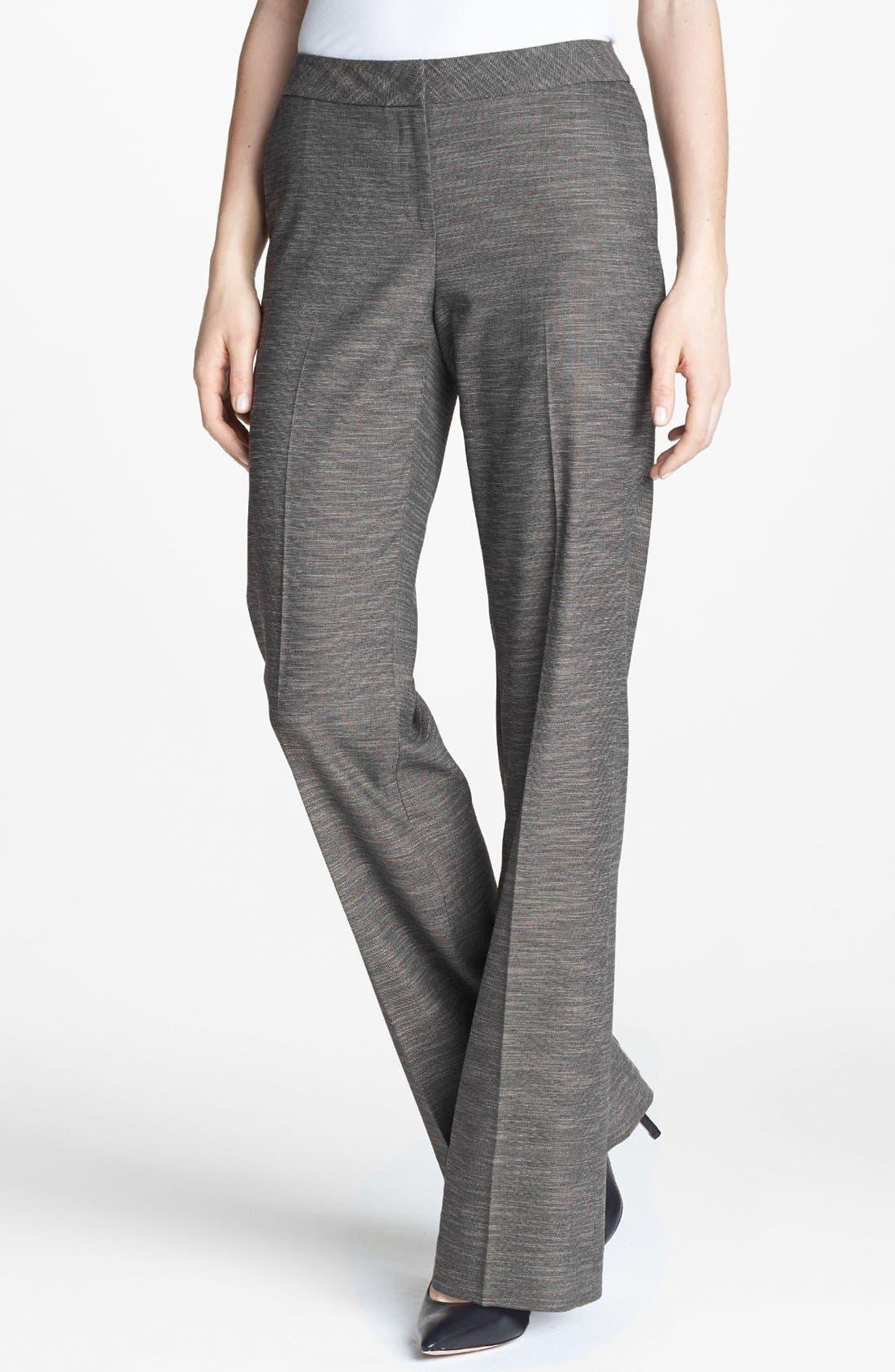 Alternate Image 1 Selected - Classiques Entier® 'Silvia' Mélange Pants