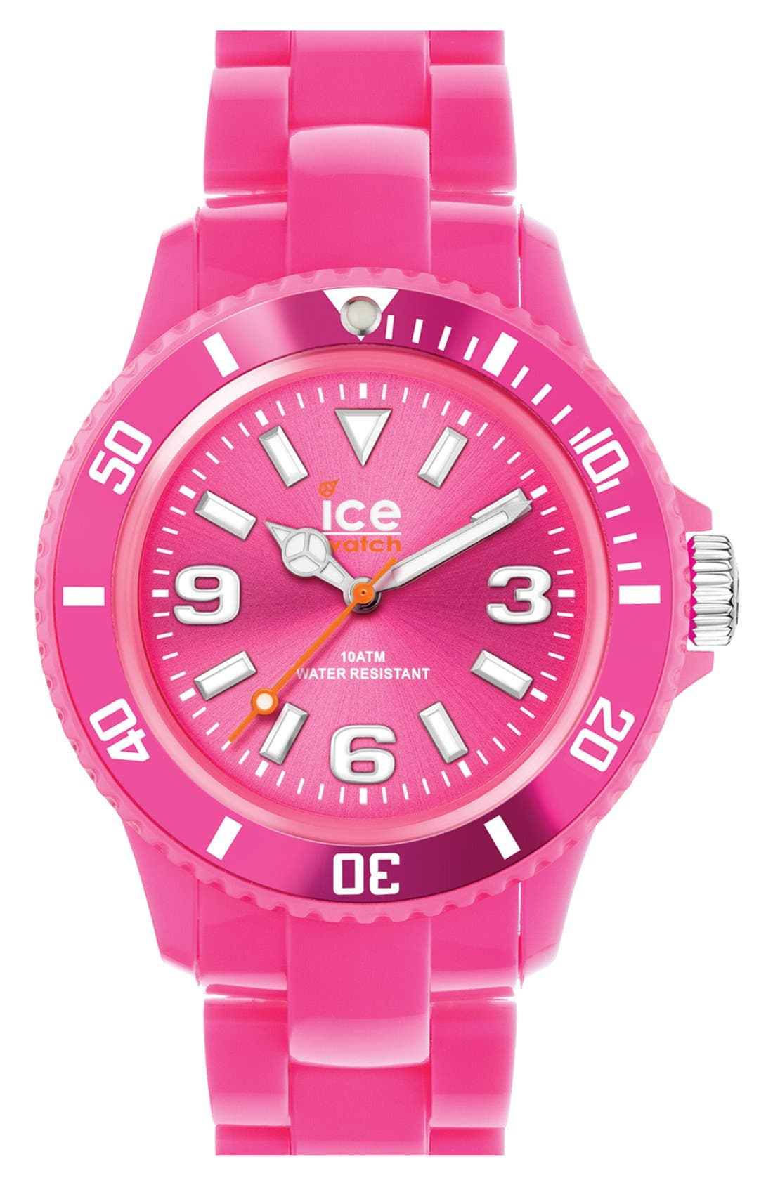 Alternate Image 1 Selected - ICE Watch Silicone Bracelet Watch, 43mm
