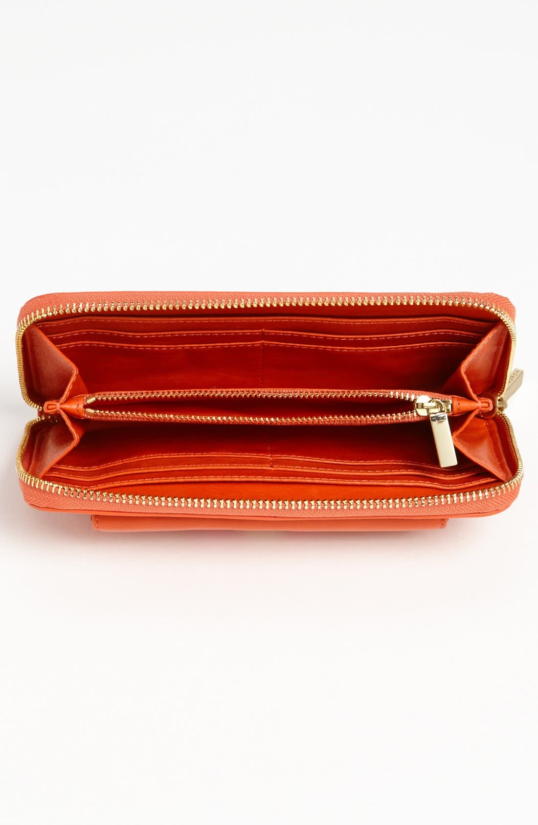 Alternate Image 2  - Tory Burch 'Bow' Leather Zip Wallet