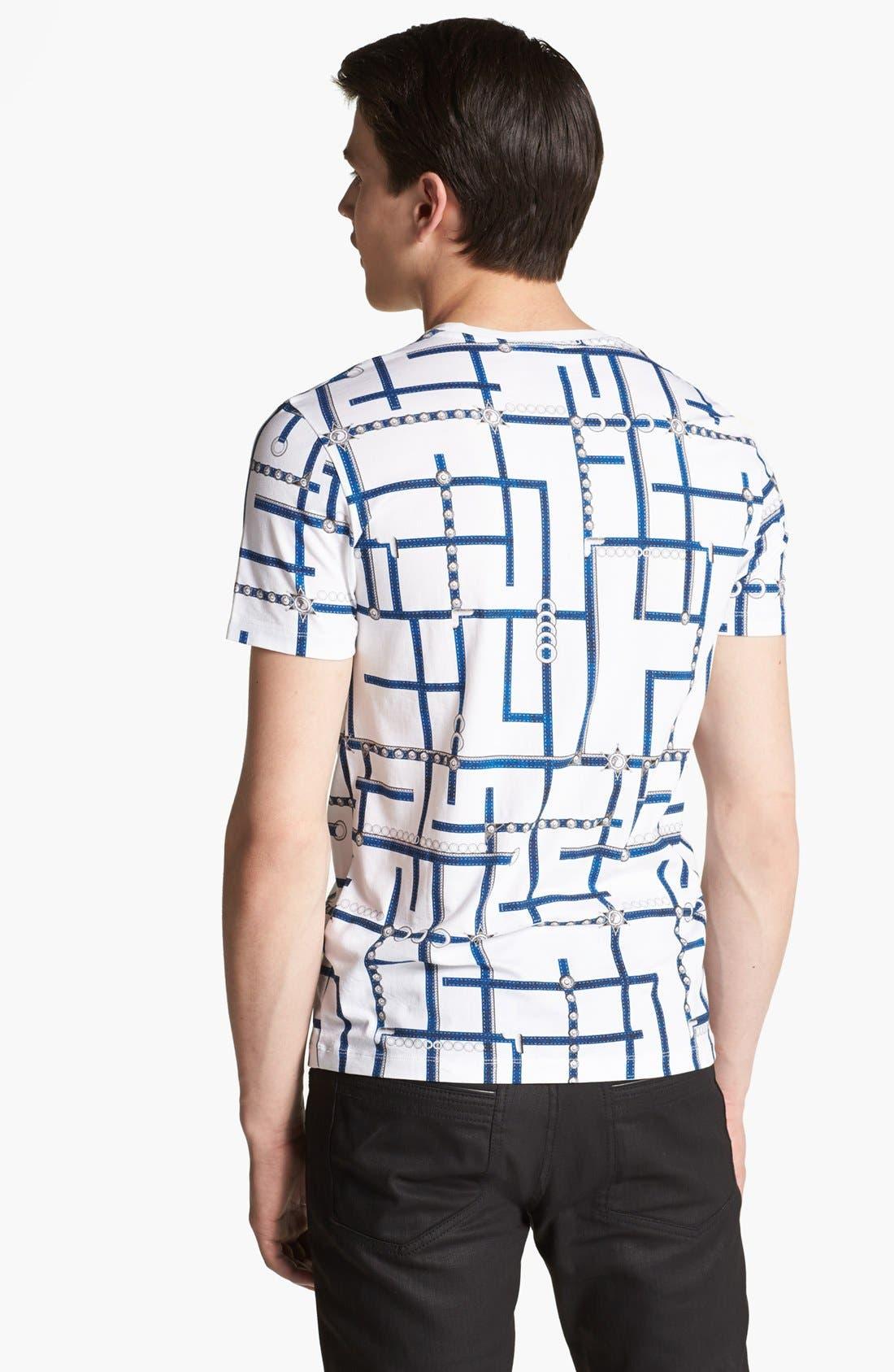 Alternate Image 2  - Versace Allover Graphic Crewneck T-Shirt